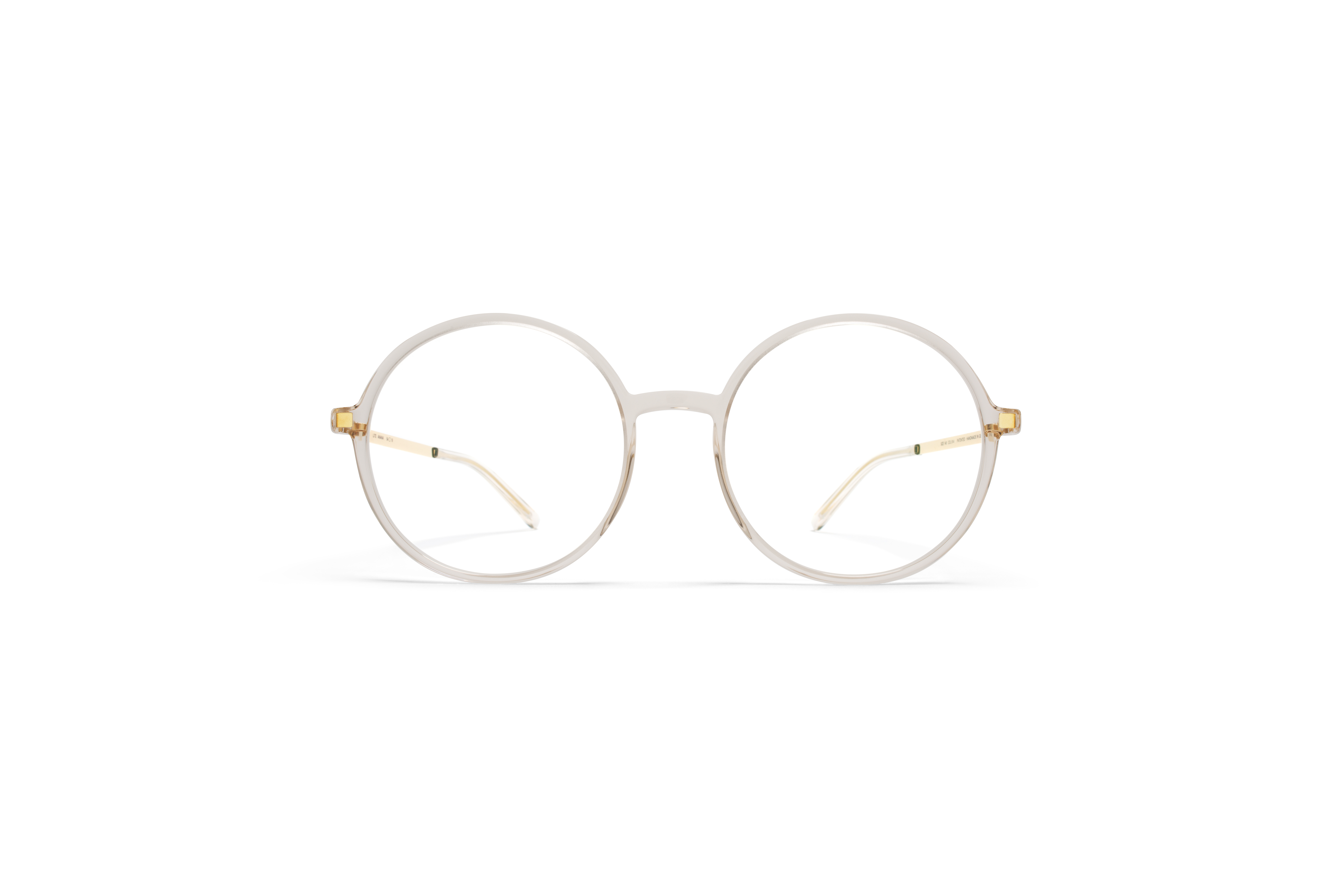 MYKITA Lite Rx Anana Champagne Glossygold Clear