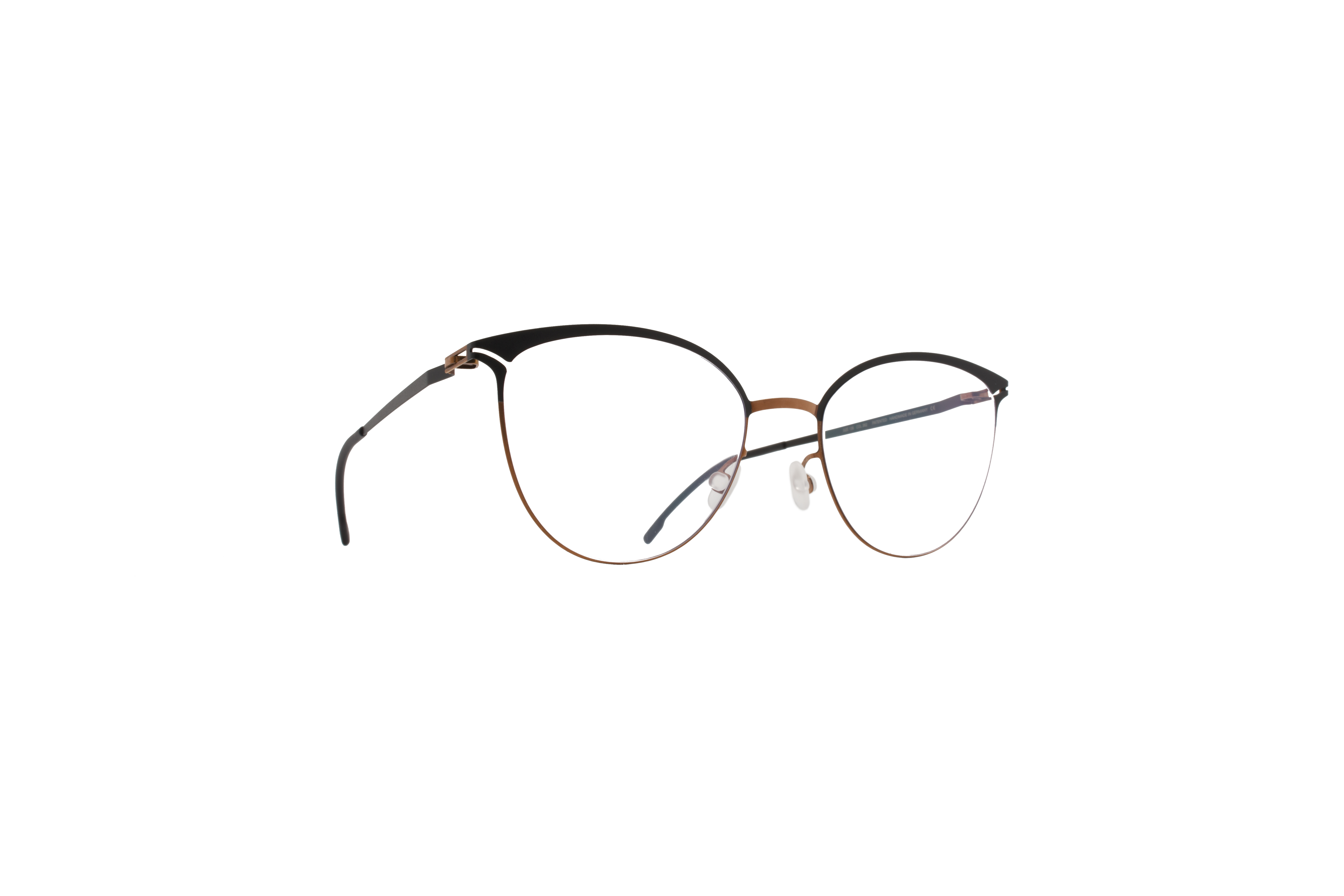 MYKITA Lite Rx Anita Shinycopper Black Clear