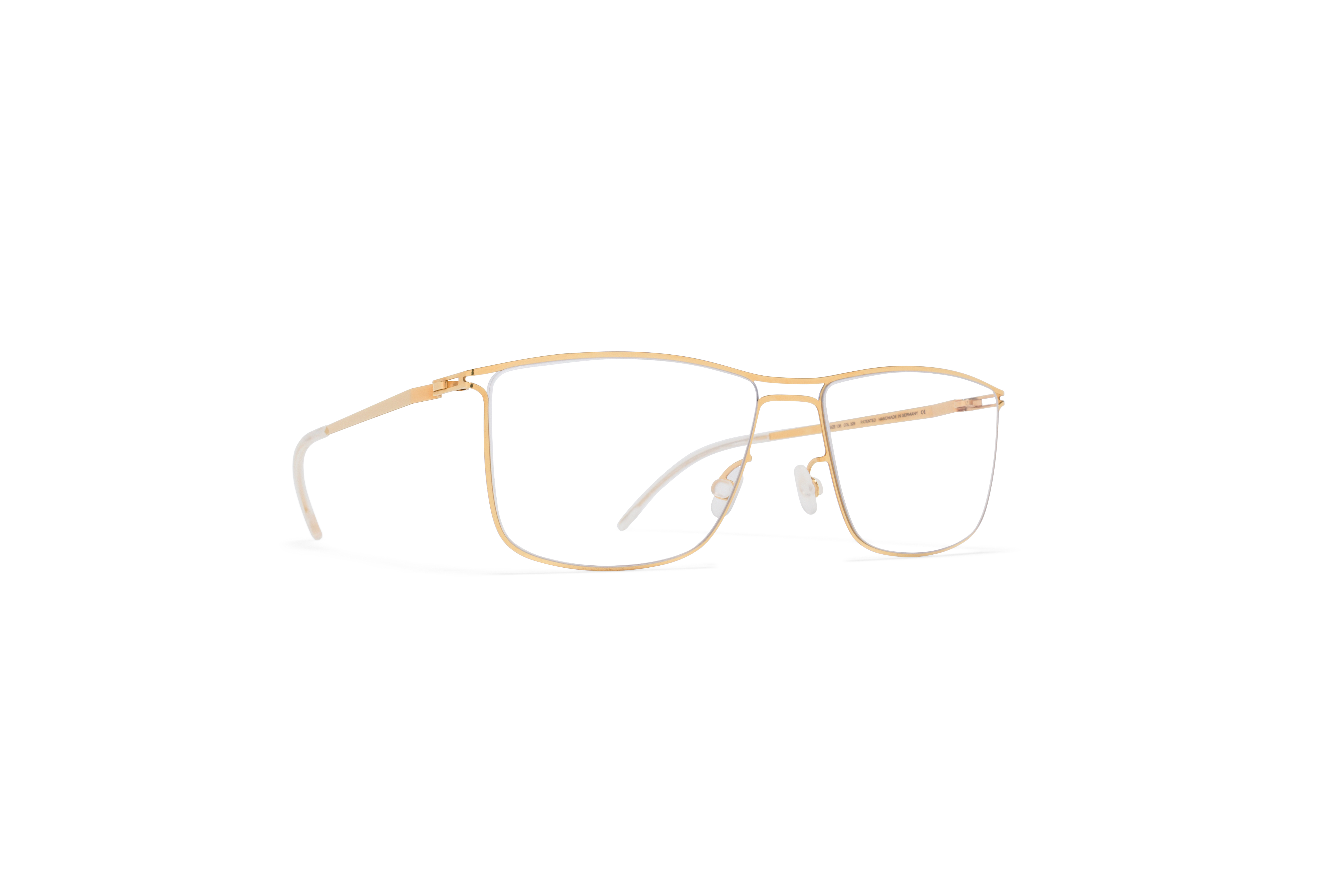 MYKITA Lite Rx Berge Silver Glossy Gold Clear