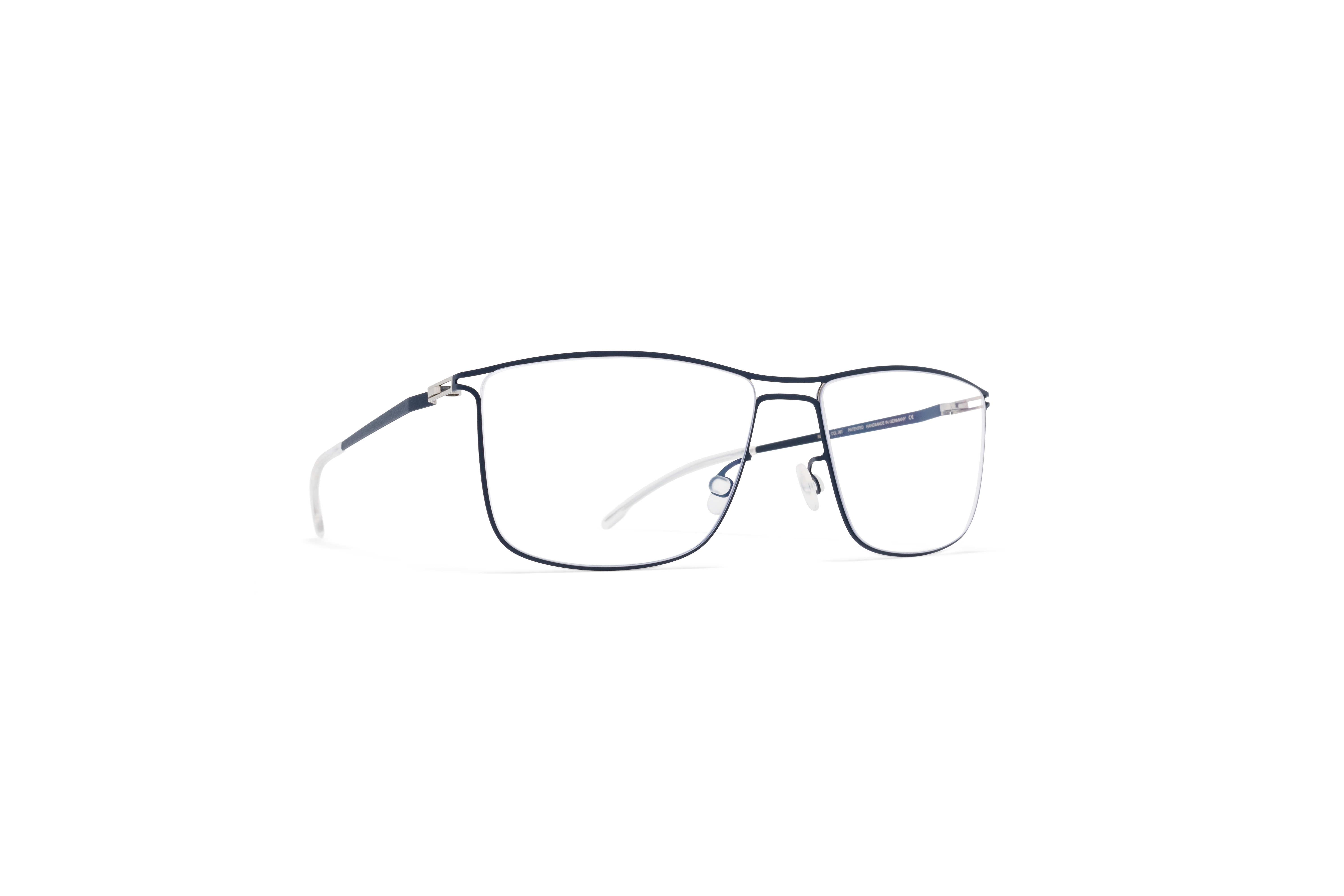 MYKITA Lite Rx Berge Silver Navy Clear