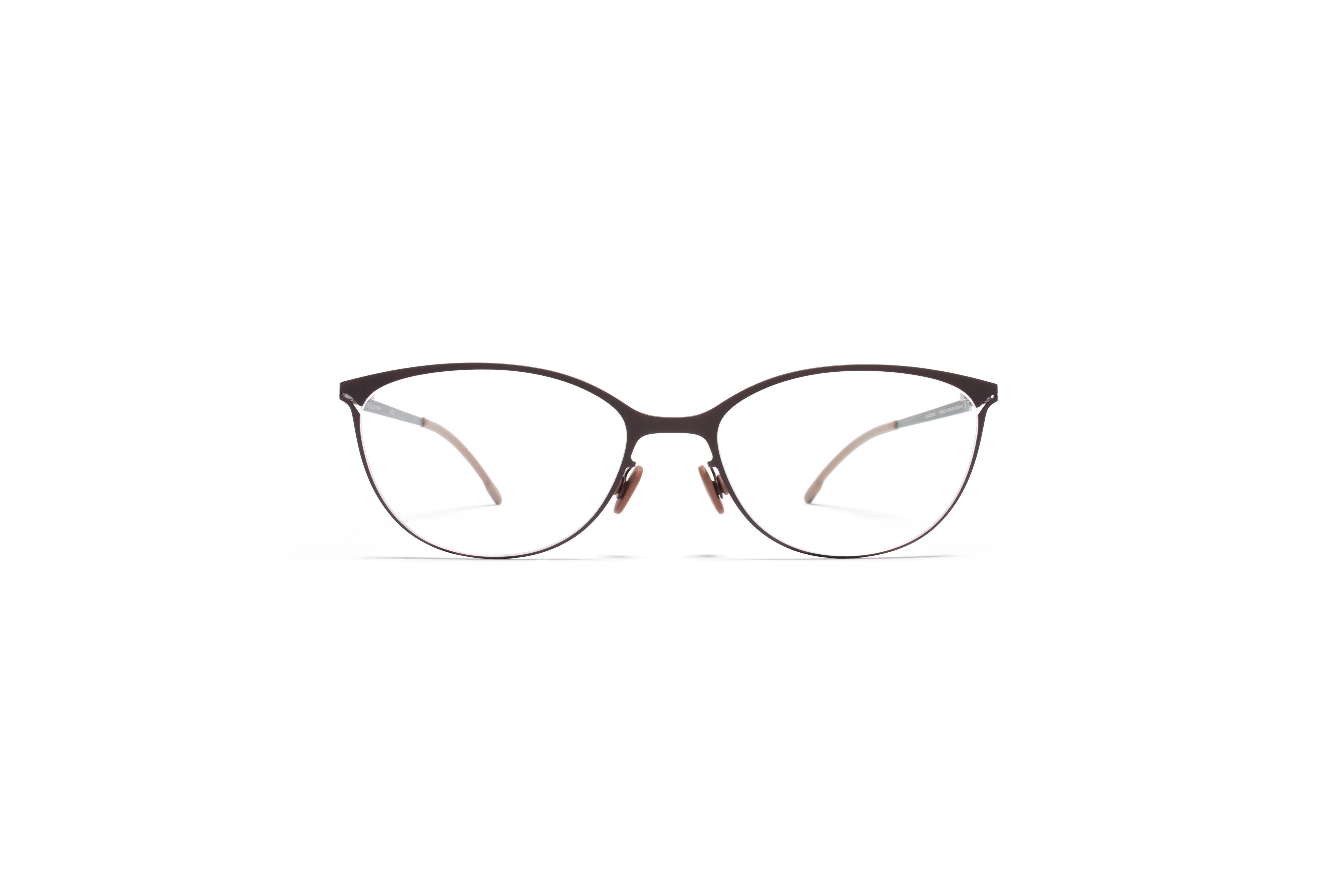 MYKITA Lite Rx Dagny Darkbrown Clear