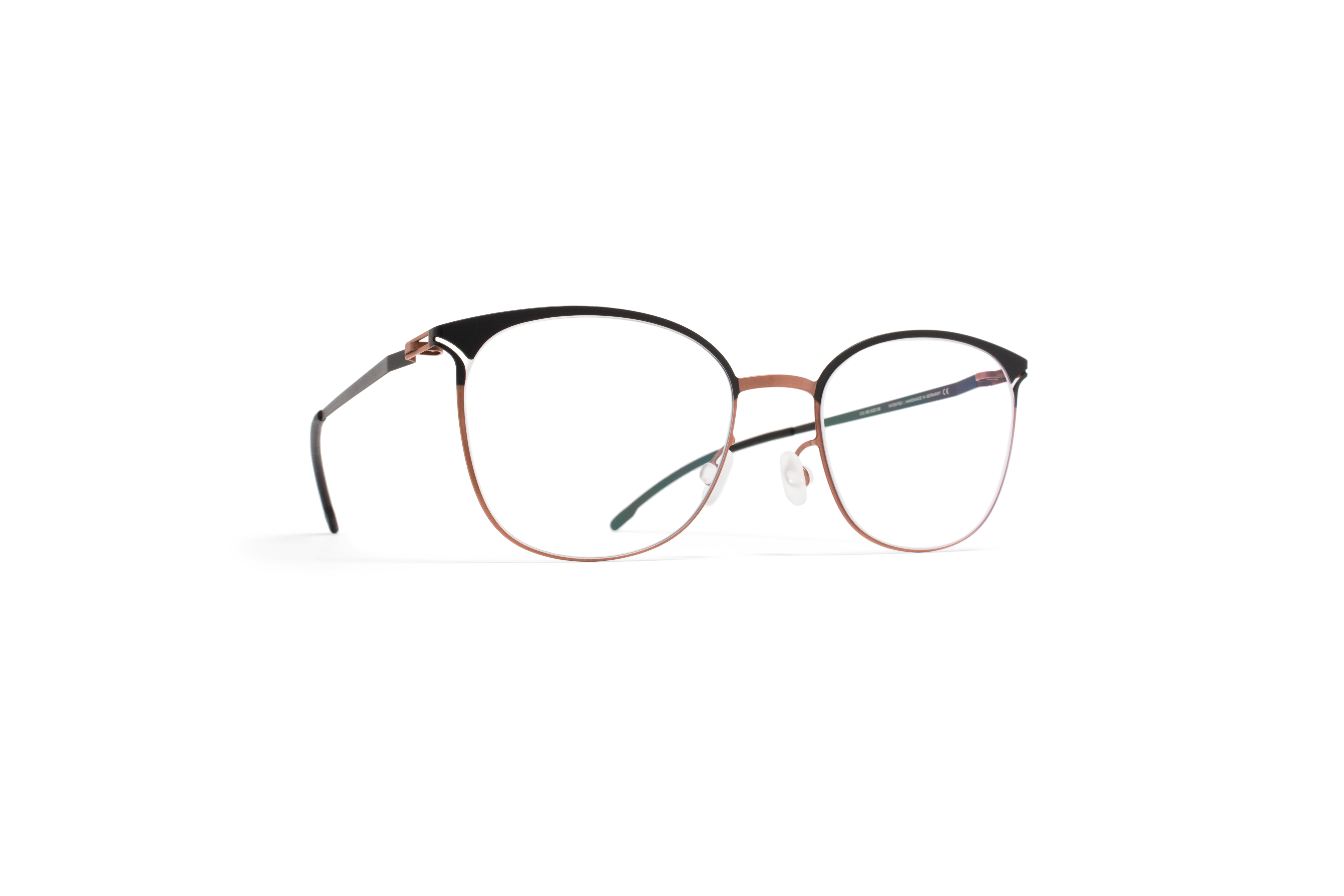 MYKITA Lite Rx Edda Shinycopper Black Clear