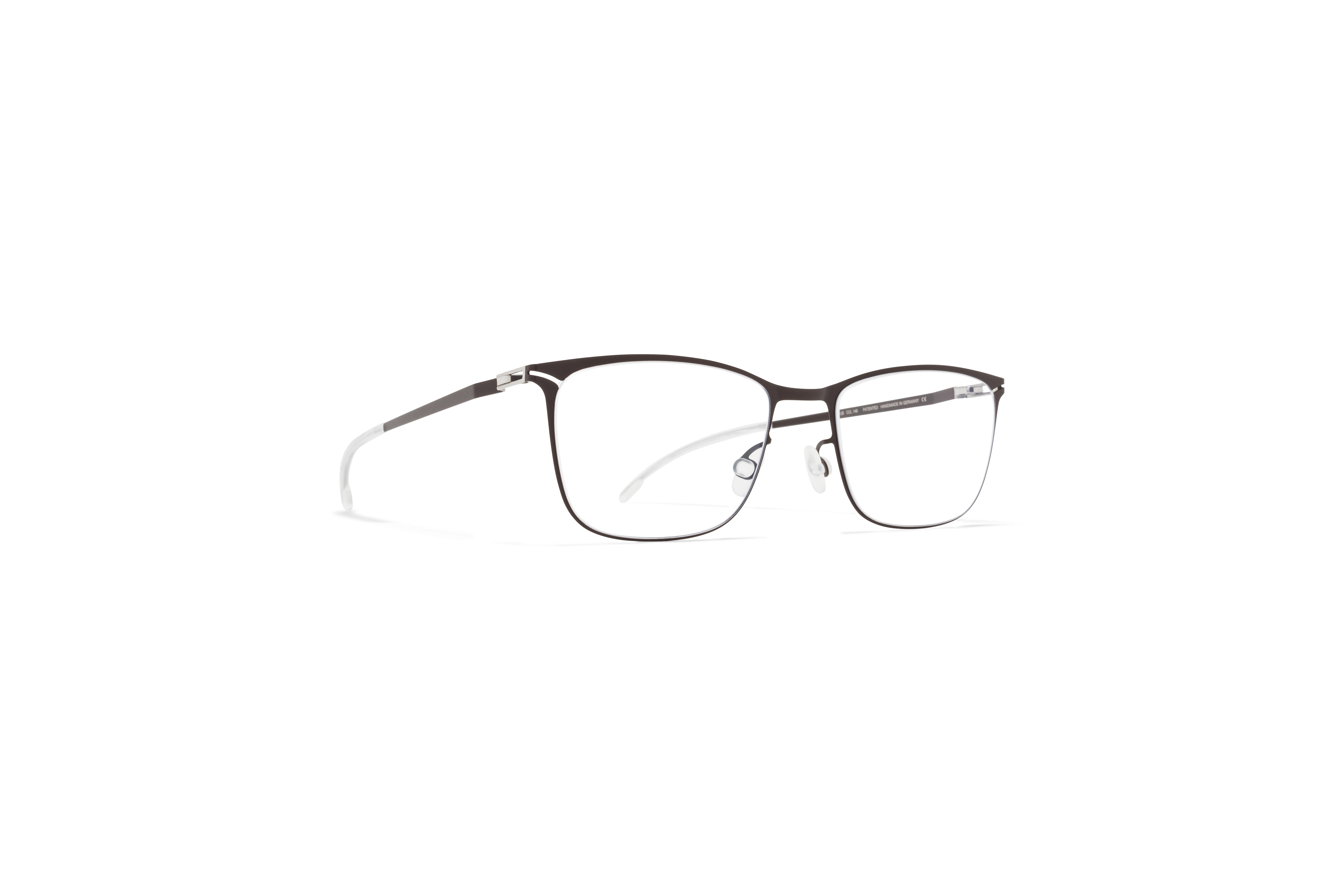 MYKITA Lite Rx Flora Dark Brown Clear
