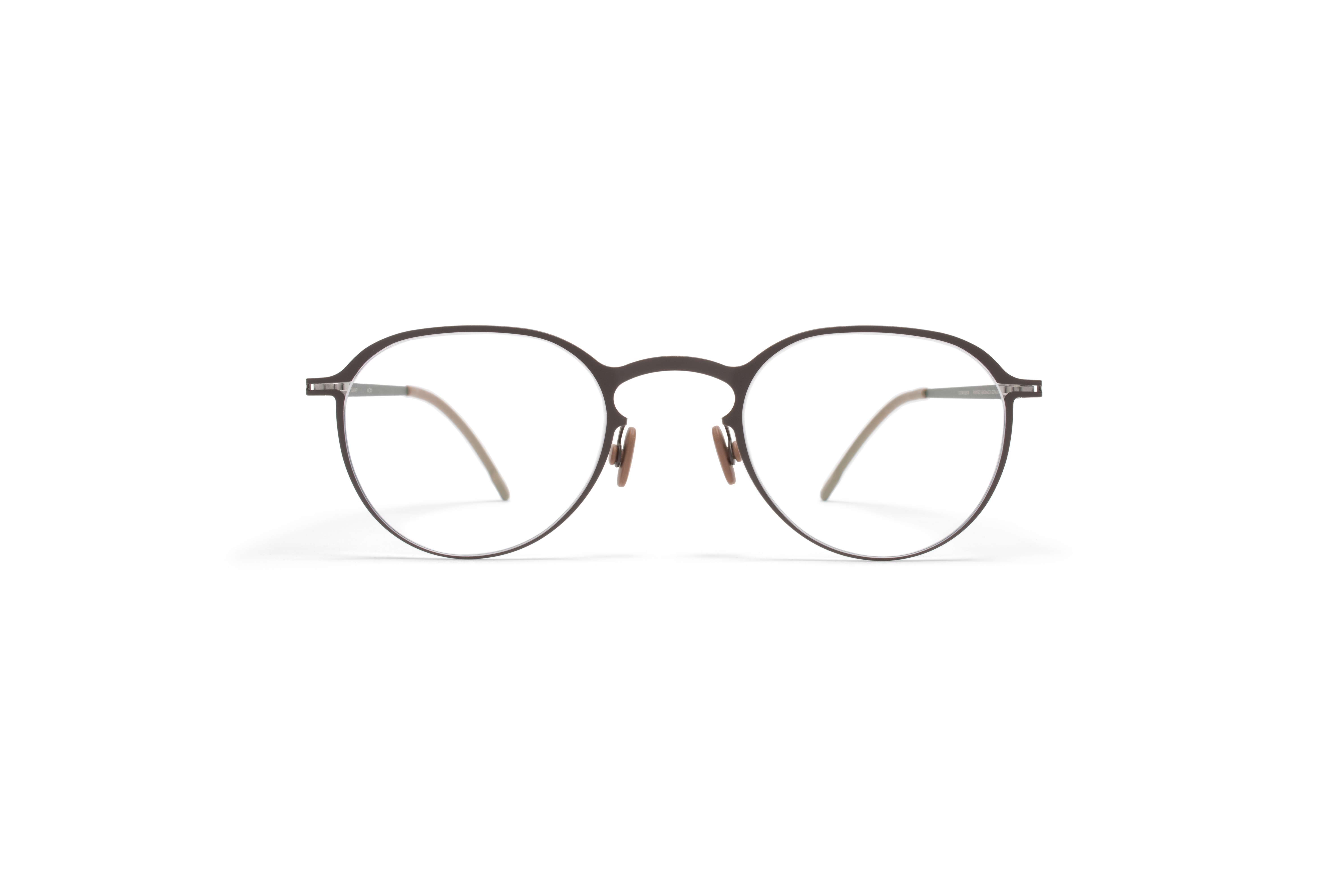 MYKITA Lite Rx Gunnar Darkbrown Clear