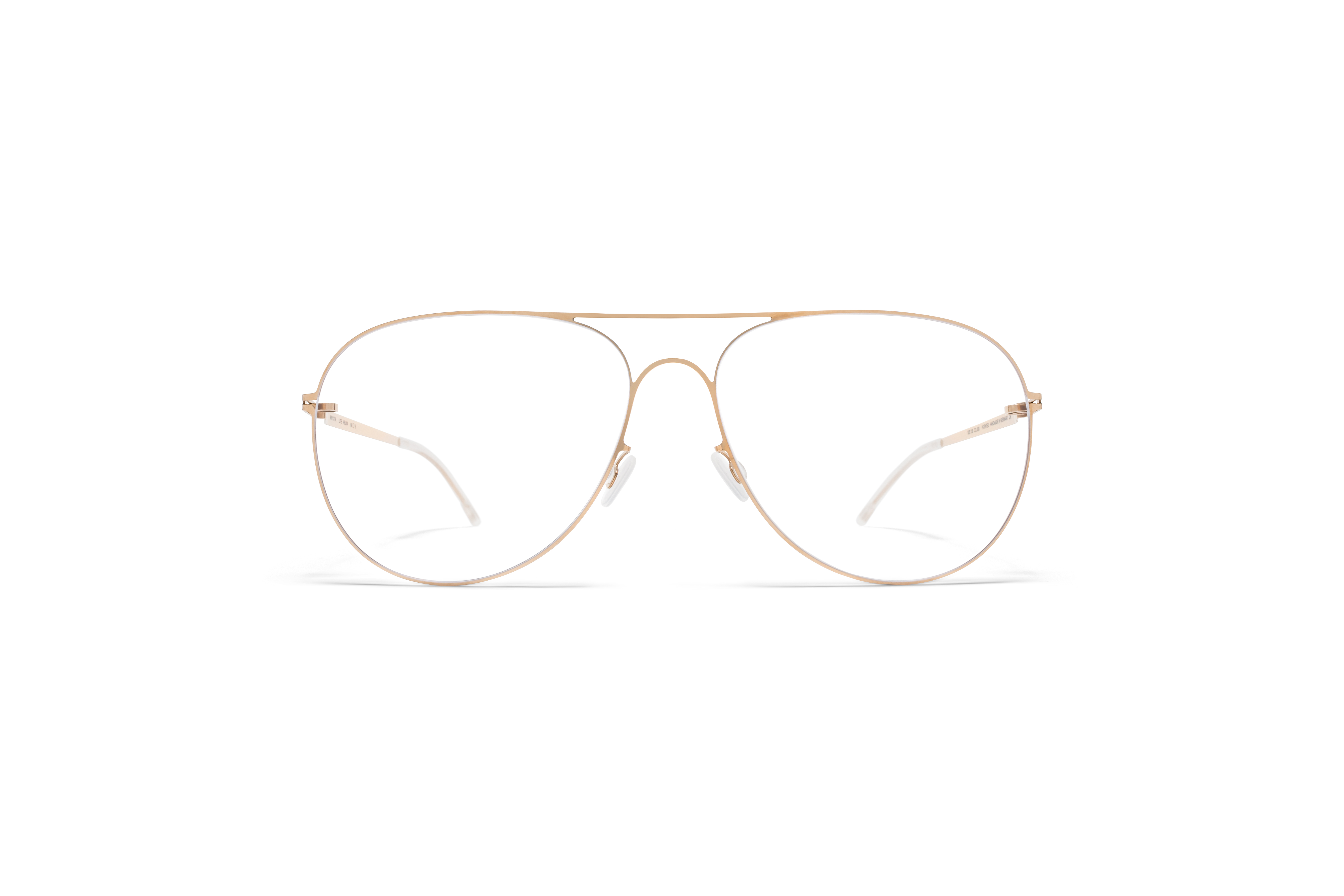MYKITA Lite Rx Helka Silver Champagne Gold Clear