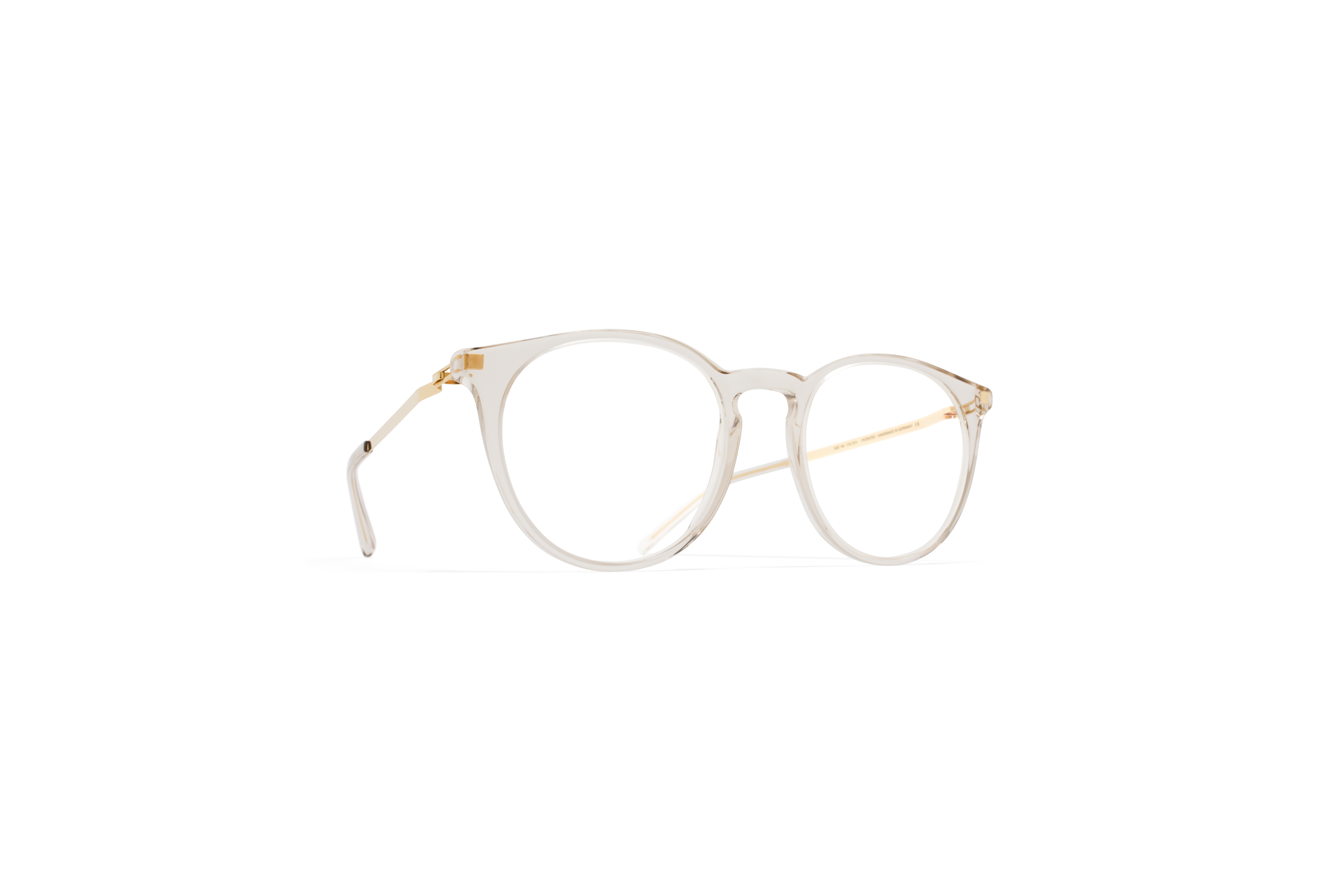 MYKITA Lite Rx Keelut Champagne Glossygold Clear