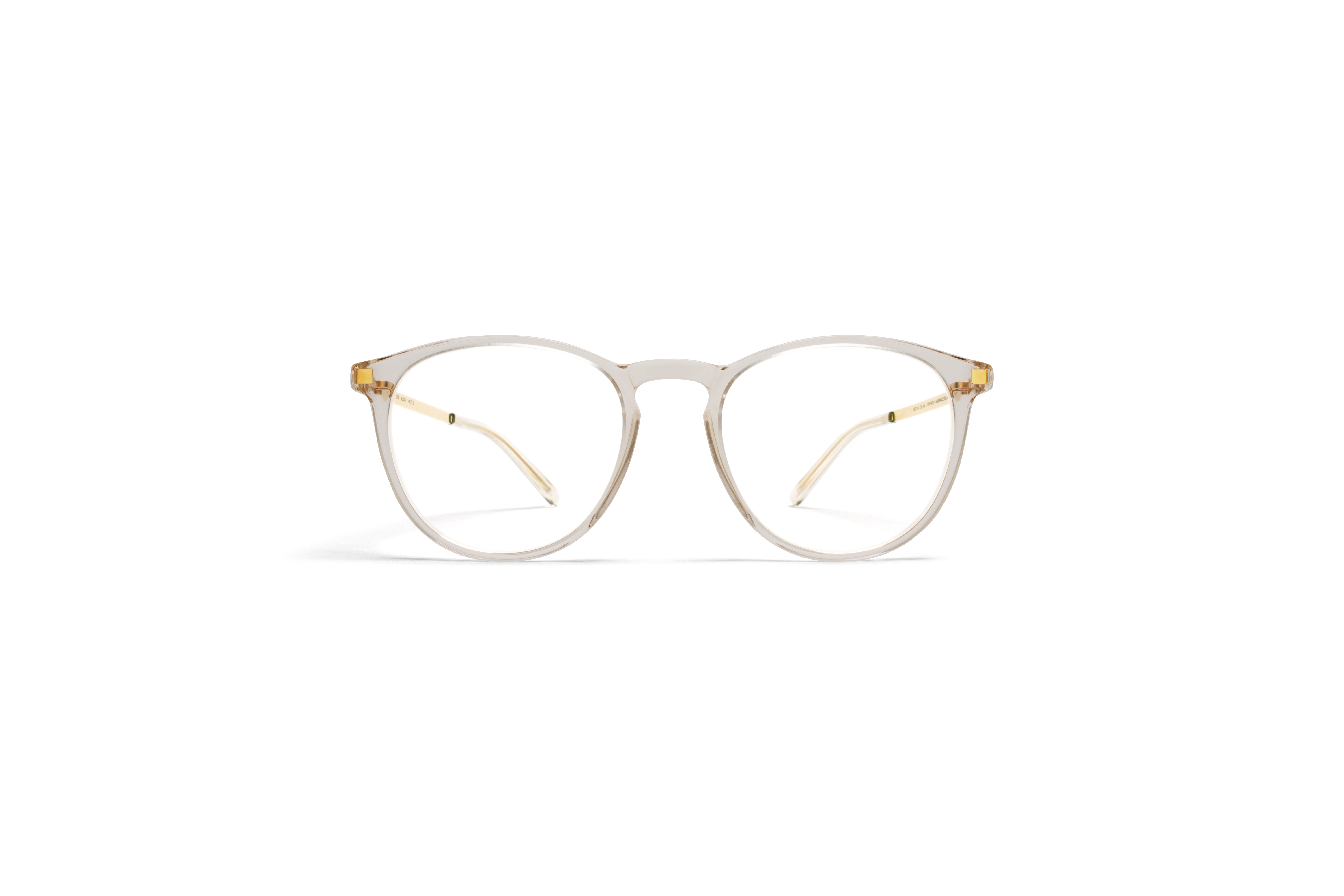 MYKITA Lite Rx Nukka Champagne Glossygold Clear