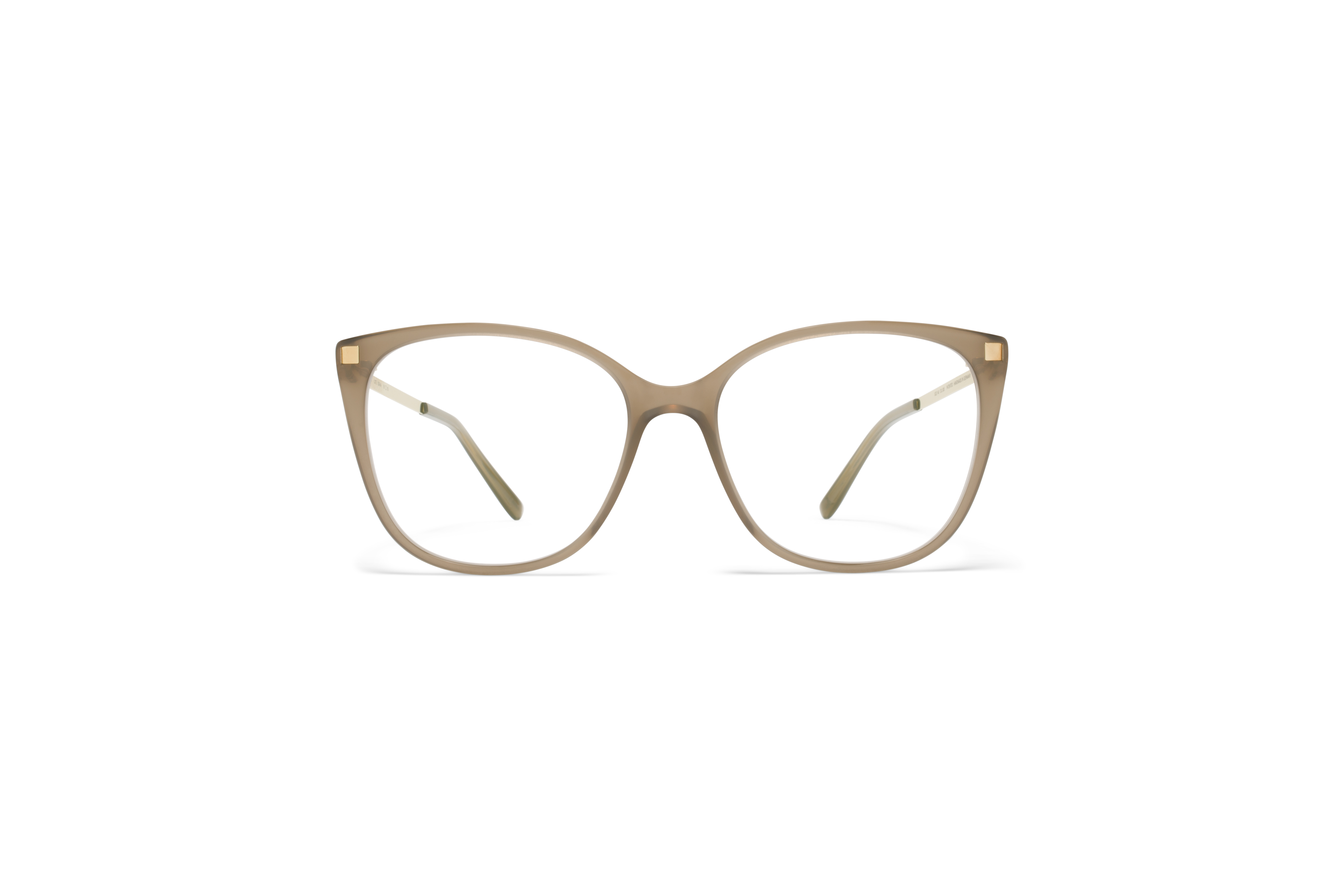 MYKITA Lite Rx Osha C7 Taupe Glossy Gold Clear