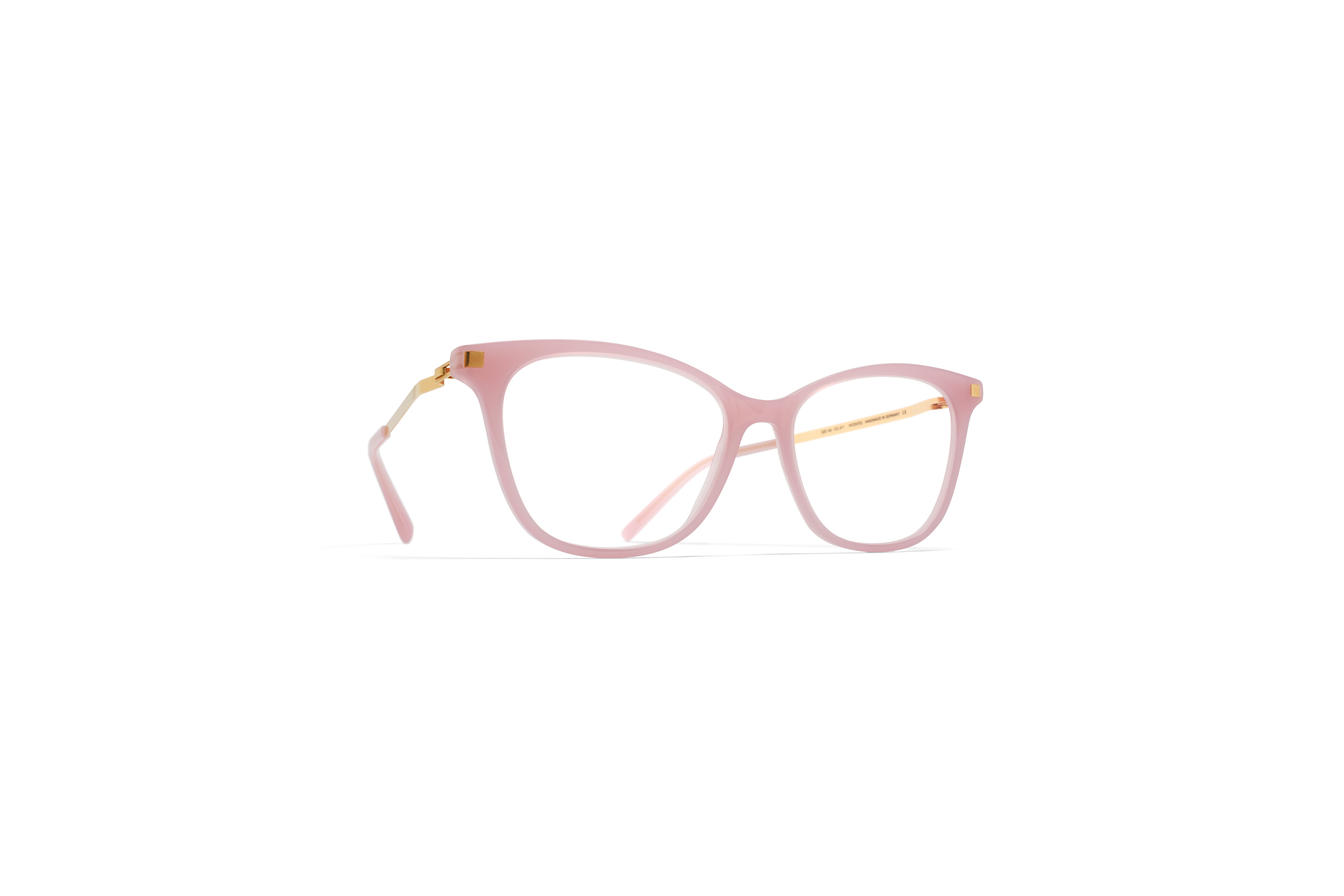 MYKITA Lite Rx Sesi Pink Sherbet Glossygold Clear