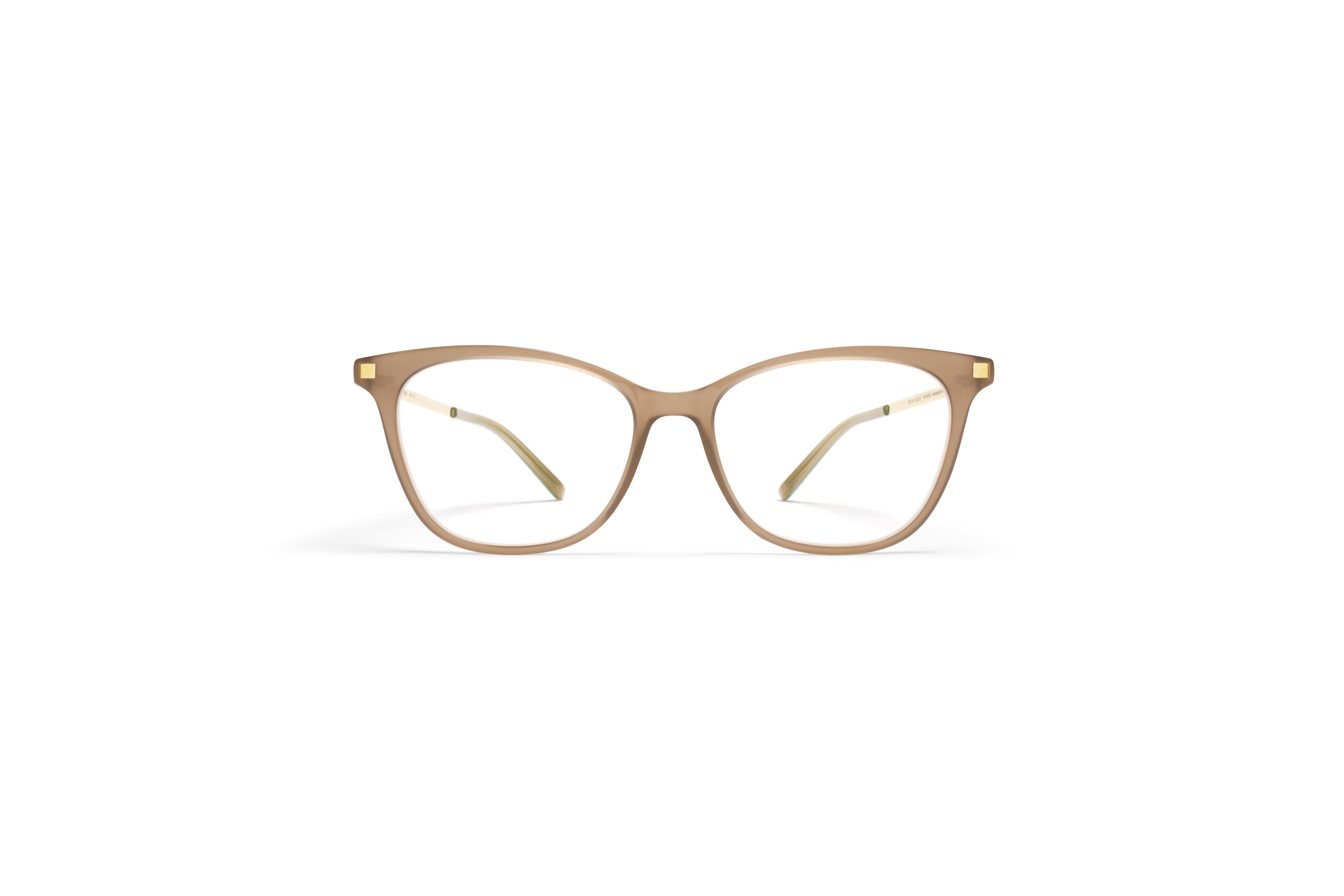 MYKITA Lite Rx Sesi Taupe Glossygold Clear