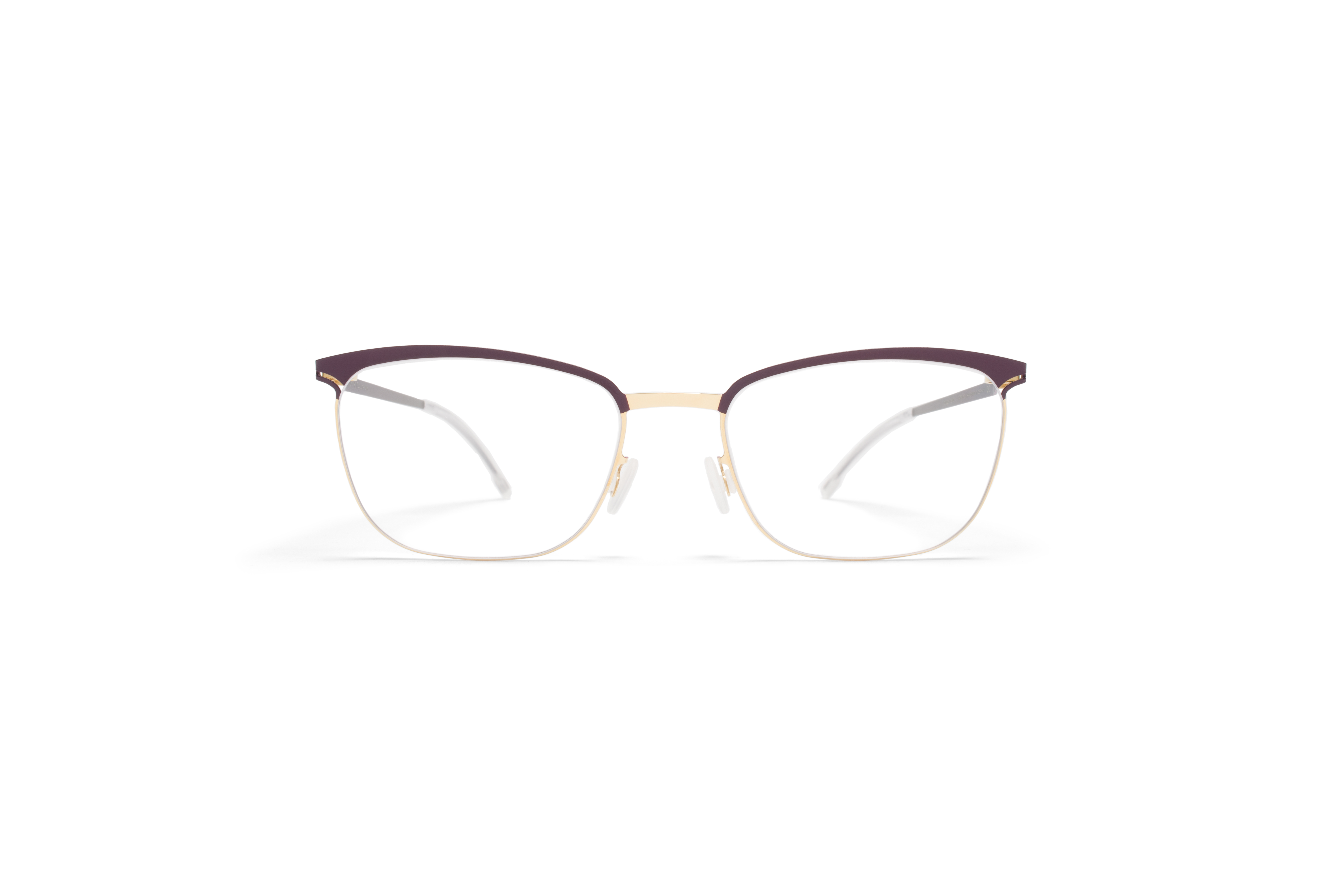 MYKITA Lite Rx Smilla Gold Plum Clear