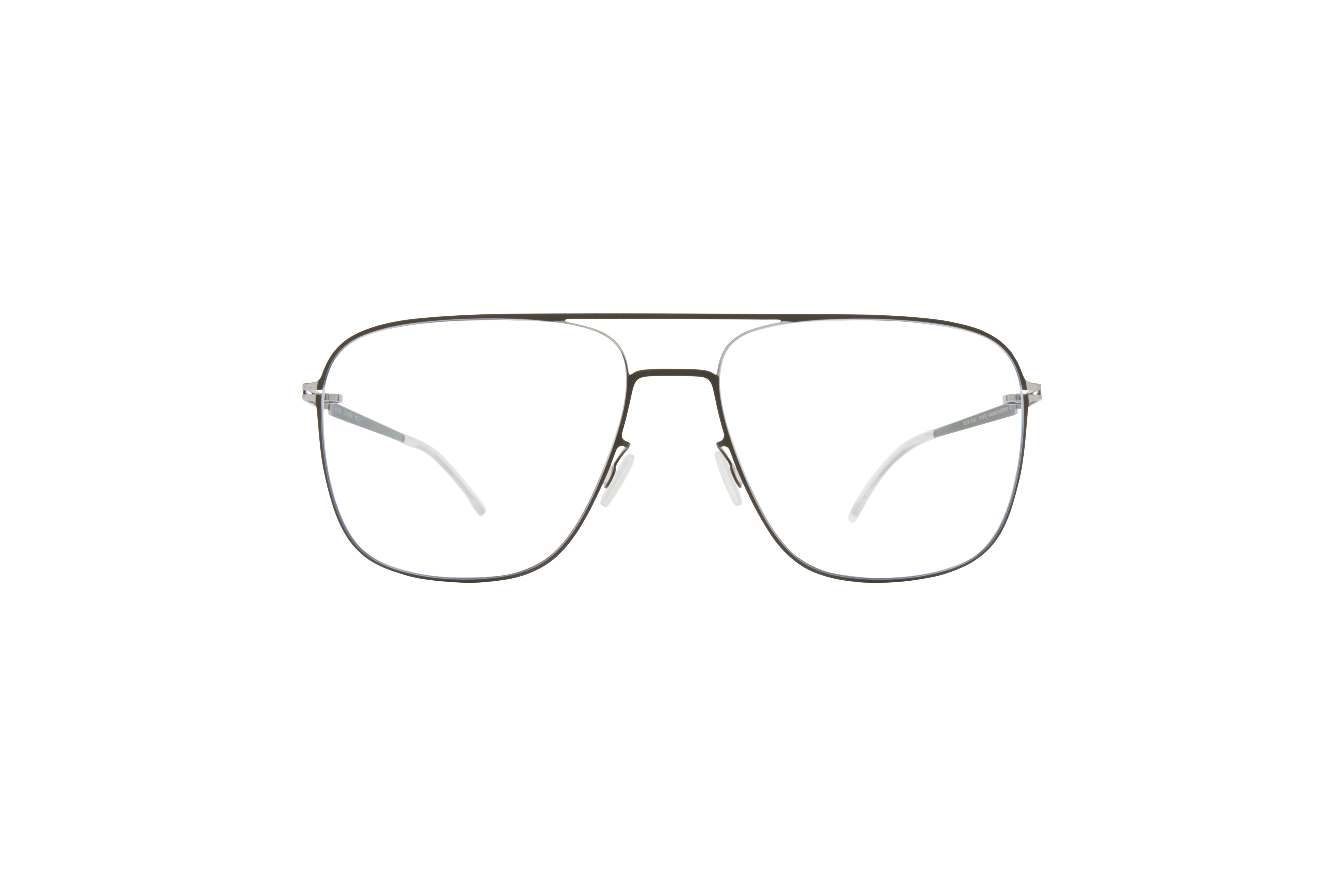 MYKITA Lite Rx Stehen Silver Camou Green Clear