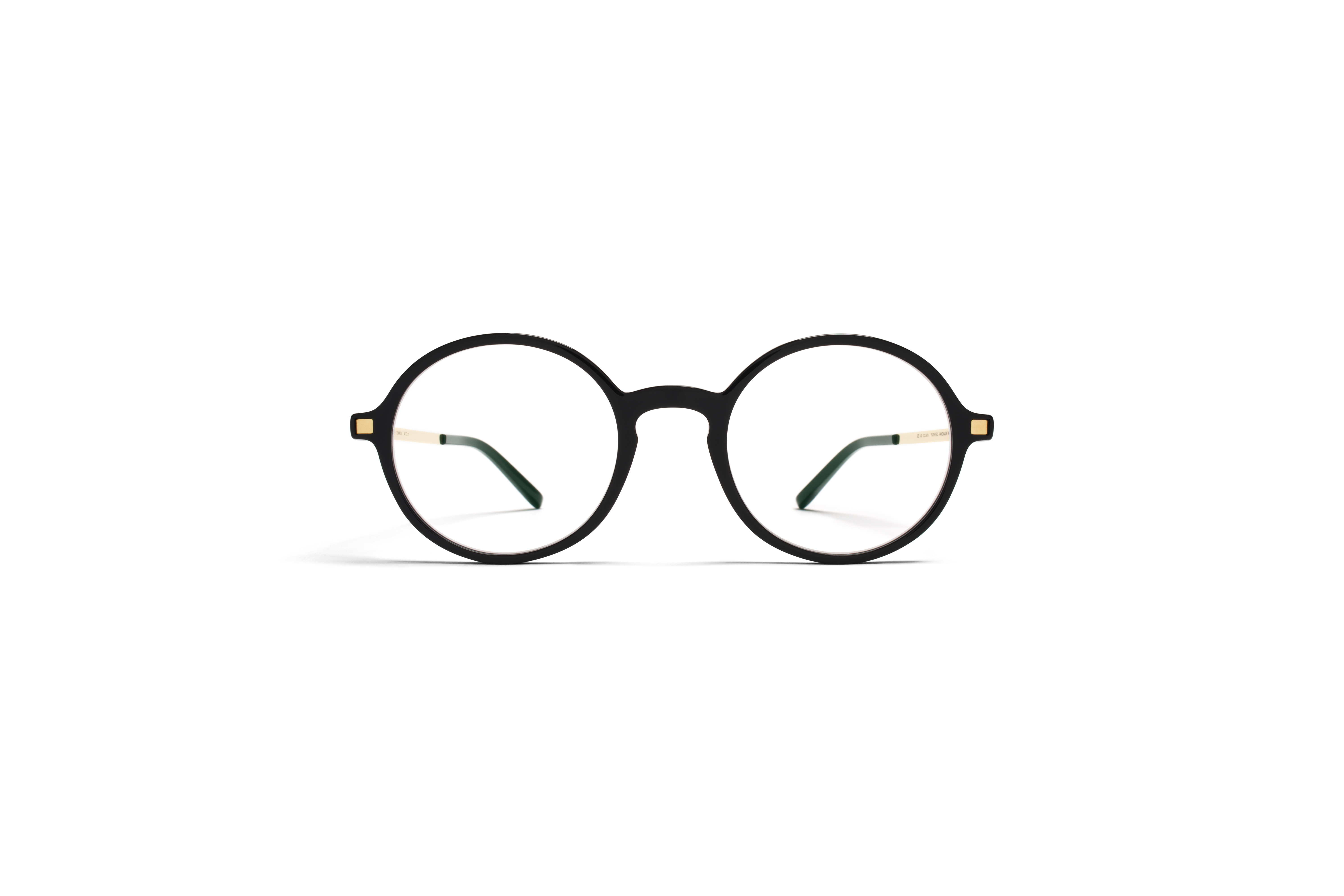 MYKITA Lite Rx Tomkin Black Glossygold Clear