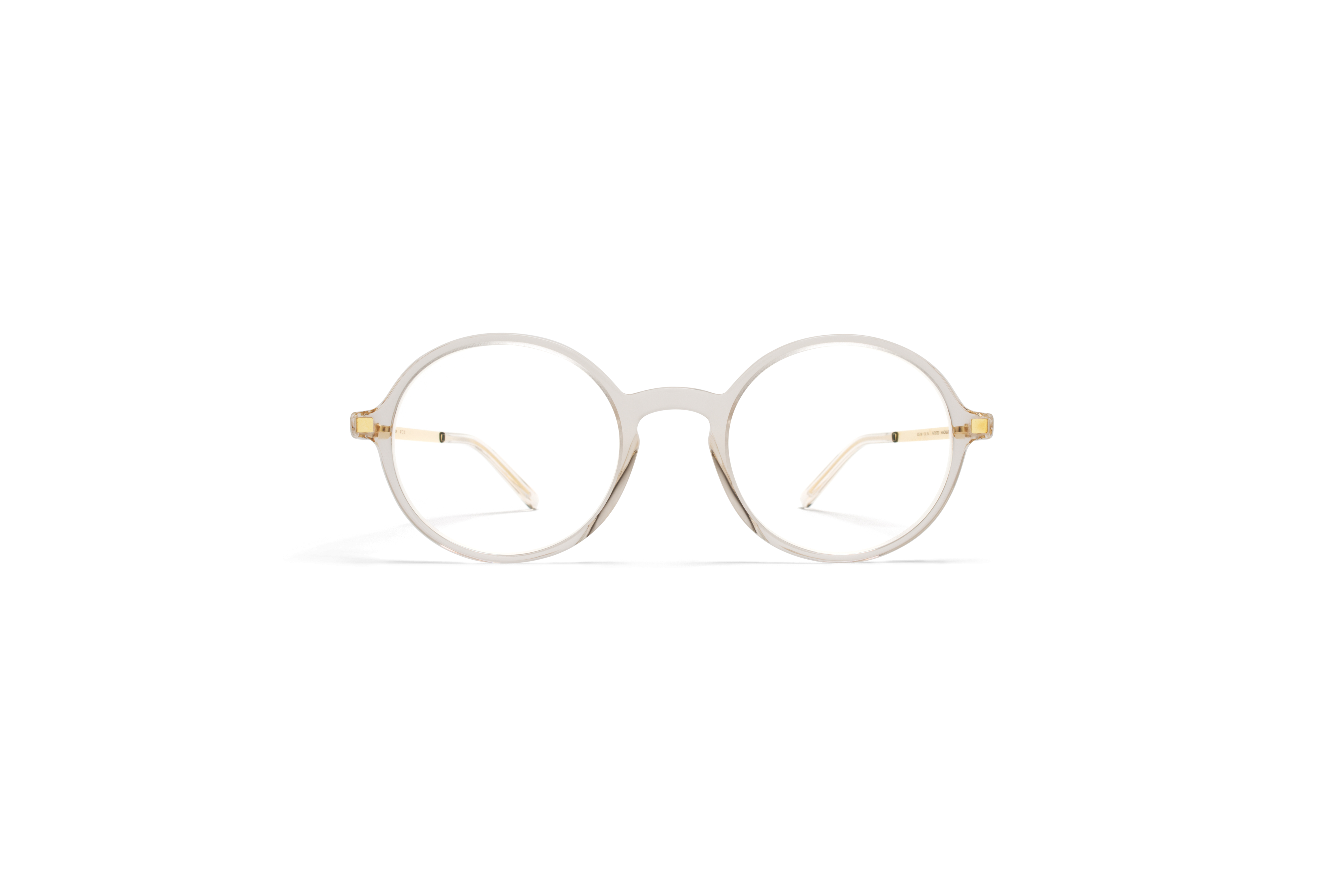 MYKITA Lite Rx Tomkin Champagne Glossygold Clear