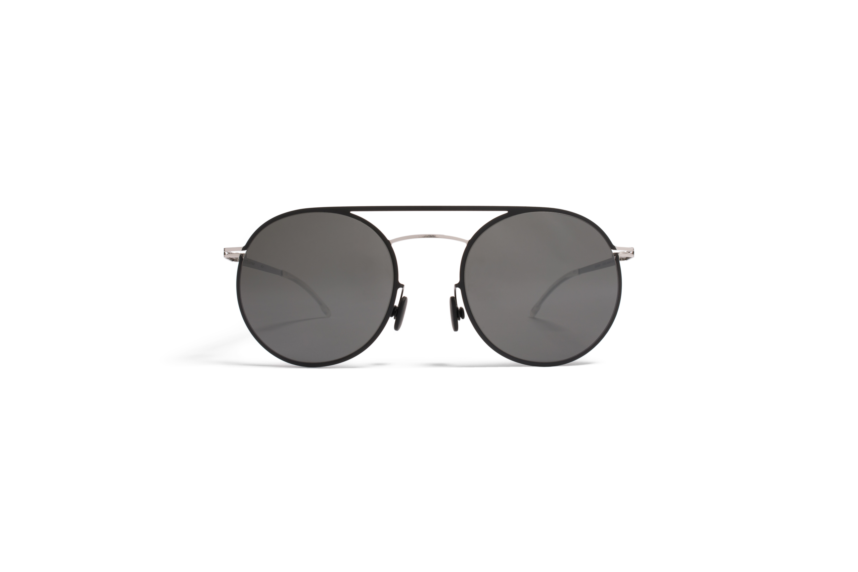 MYKITA Lite Sun Roald Silver Black Grey Flash