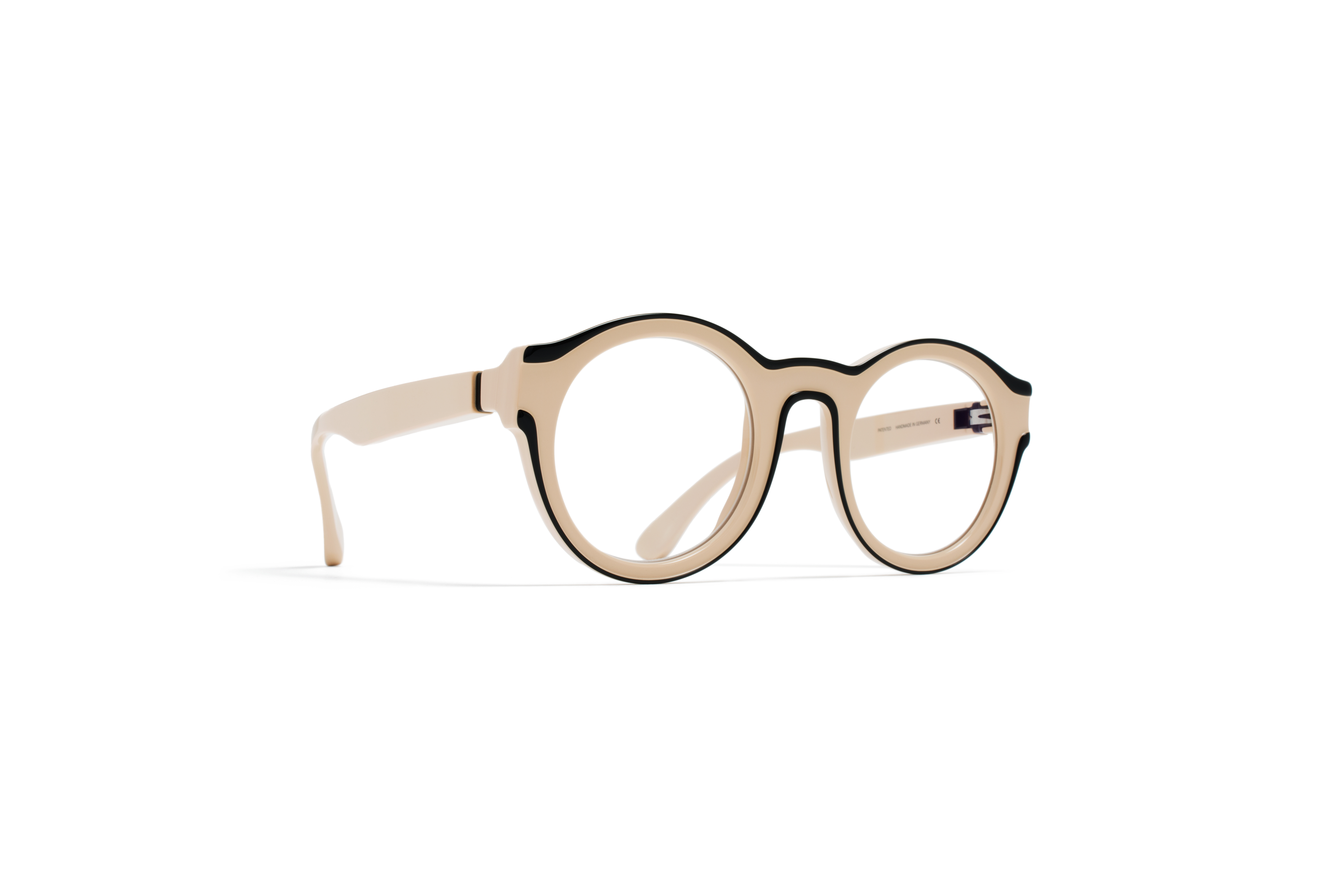 MYKITA Mm Rx Mmdual002 D2 Nude Black Clear