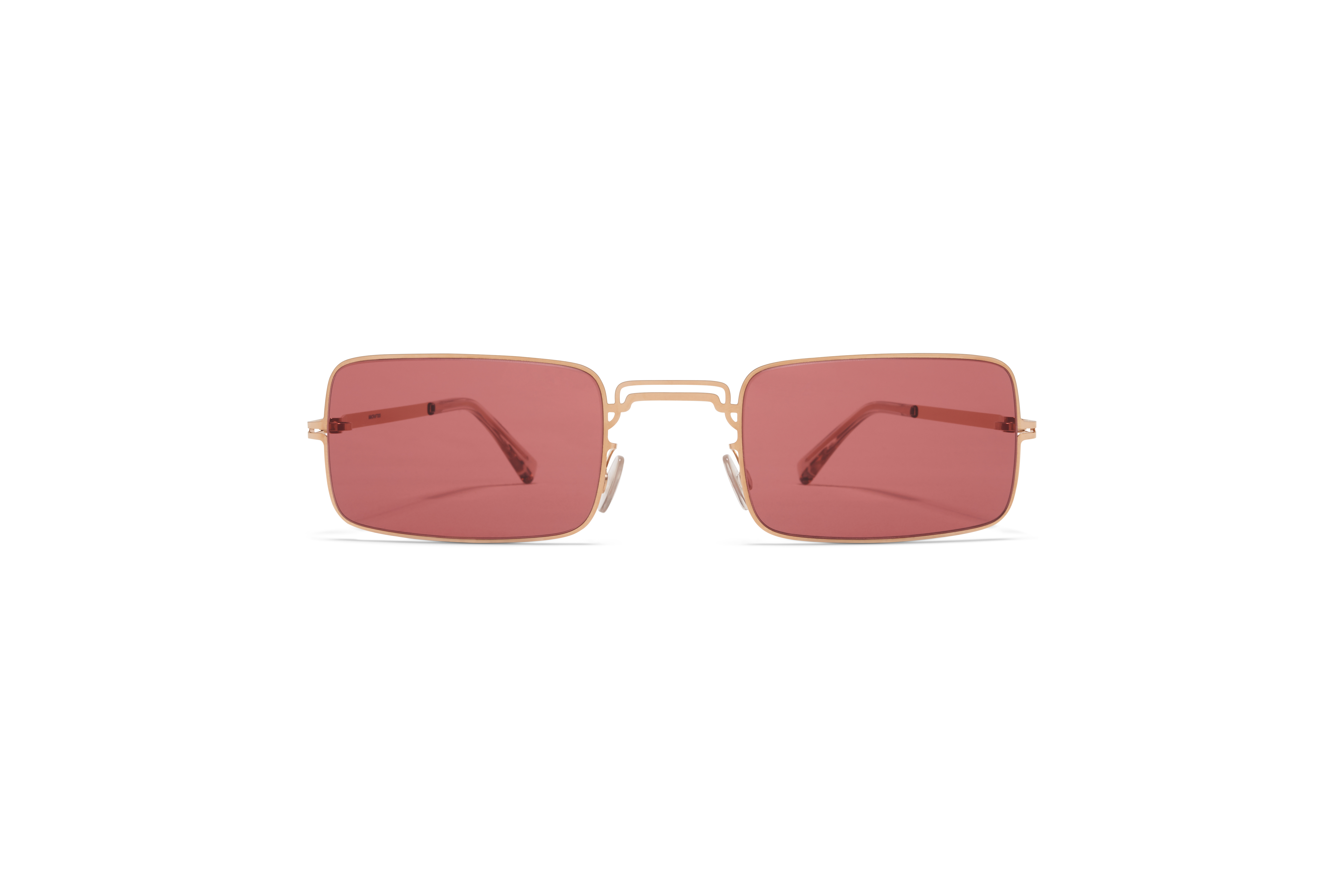 MYKITA Mm Sun Mmcraft003 Champagne Gold Purple Solid