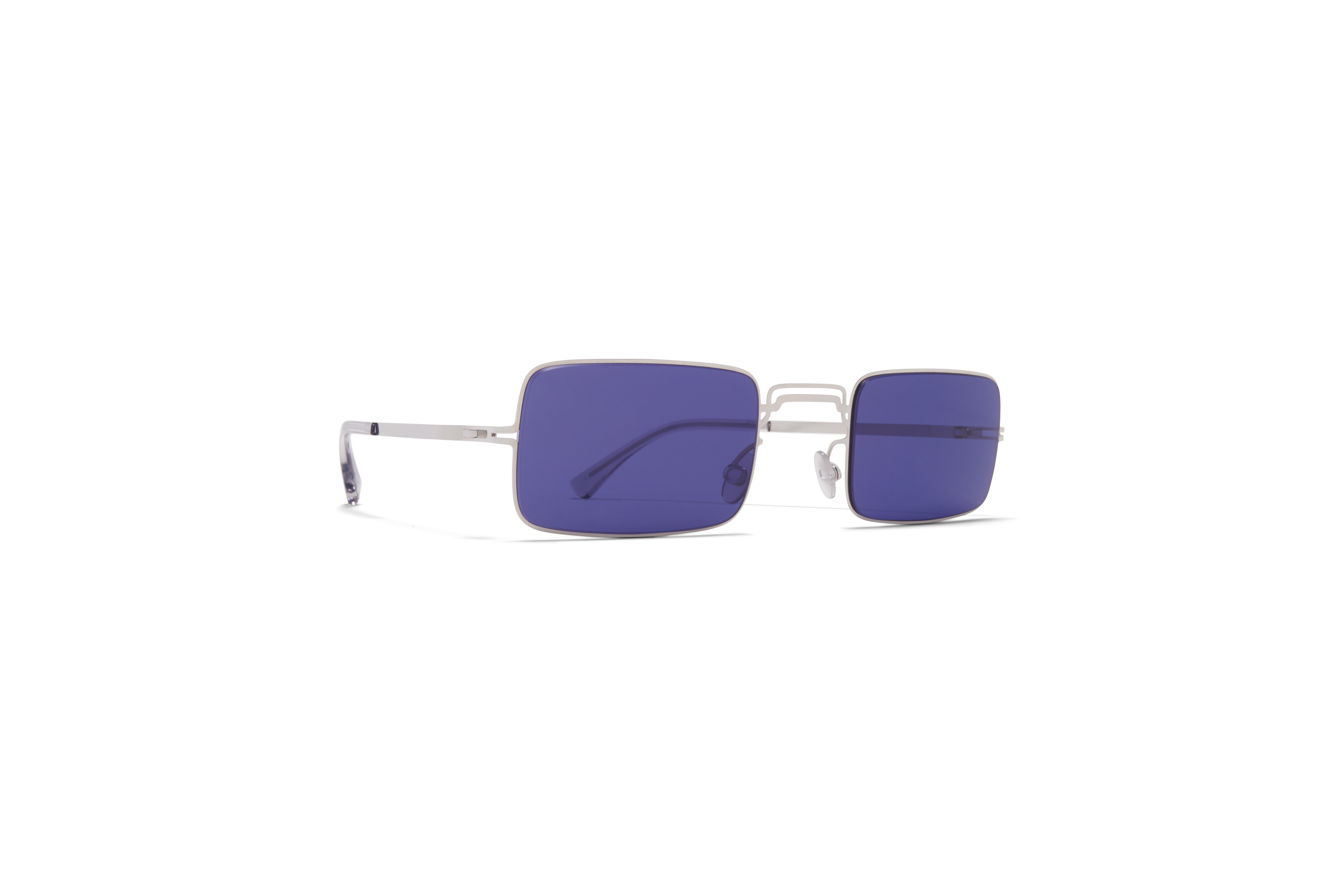 MYKITA Mm Sun Mmcraft003 Shiny Silver Indigo Solid
