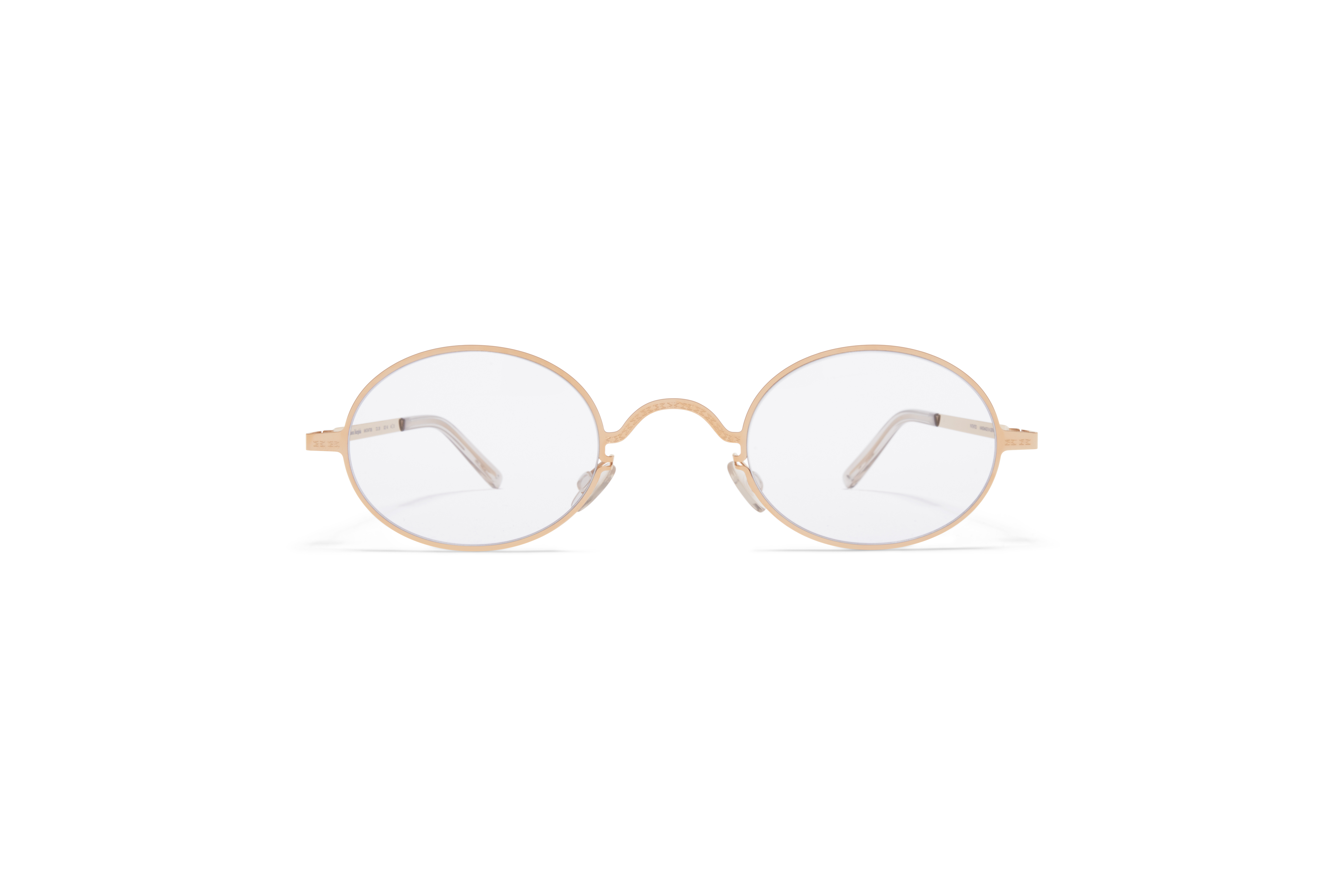 MYKITA Mm Sun Mmcraft005 Champagne Gold Gloomy Grey
