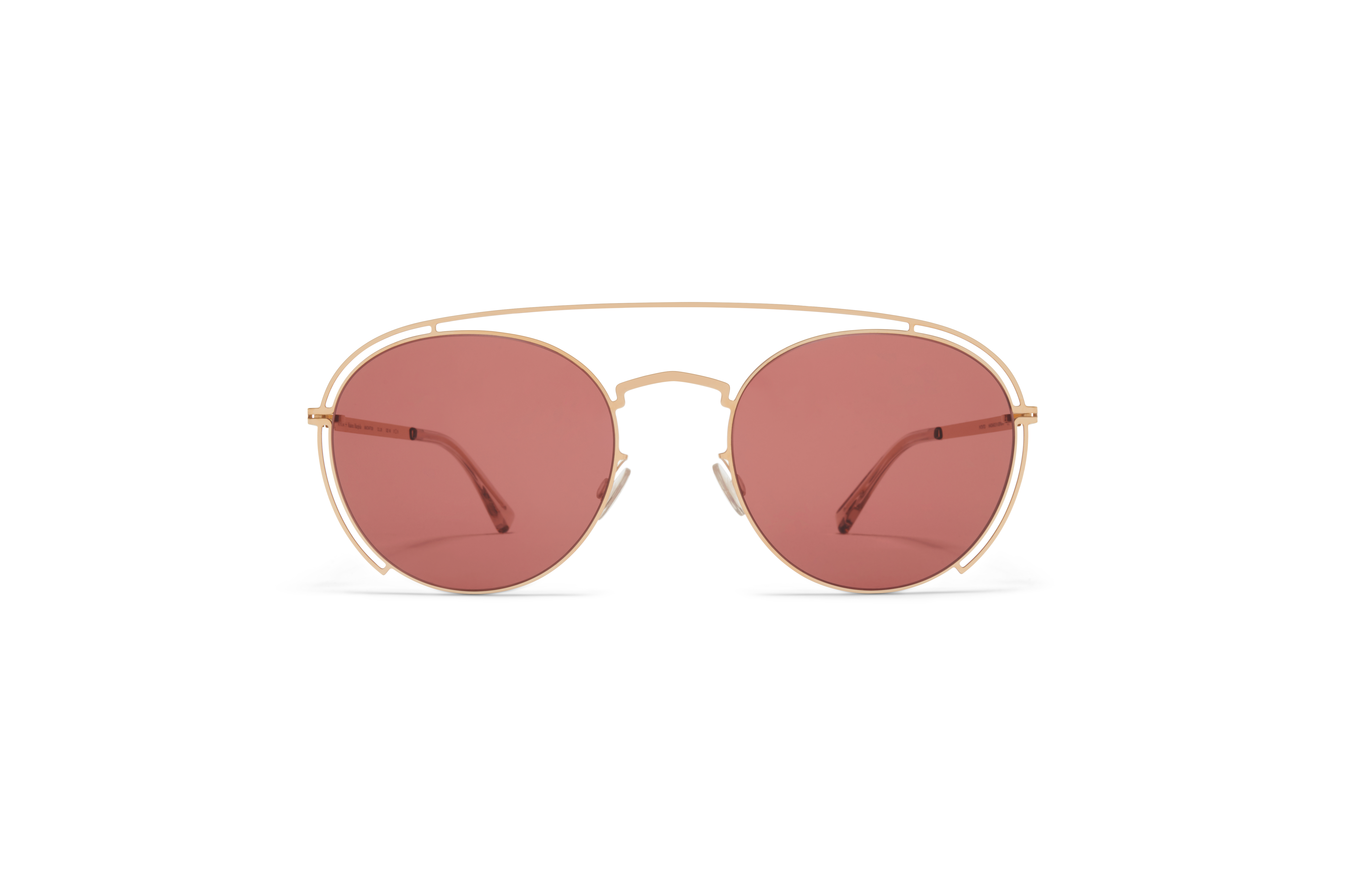 MYKITA Mm Sun Mmcraft009 Champagne Gold Purple Solid