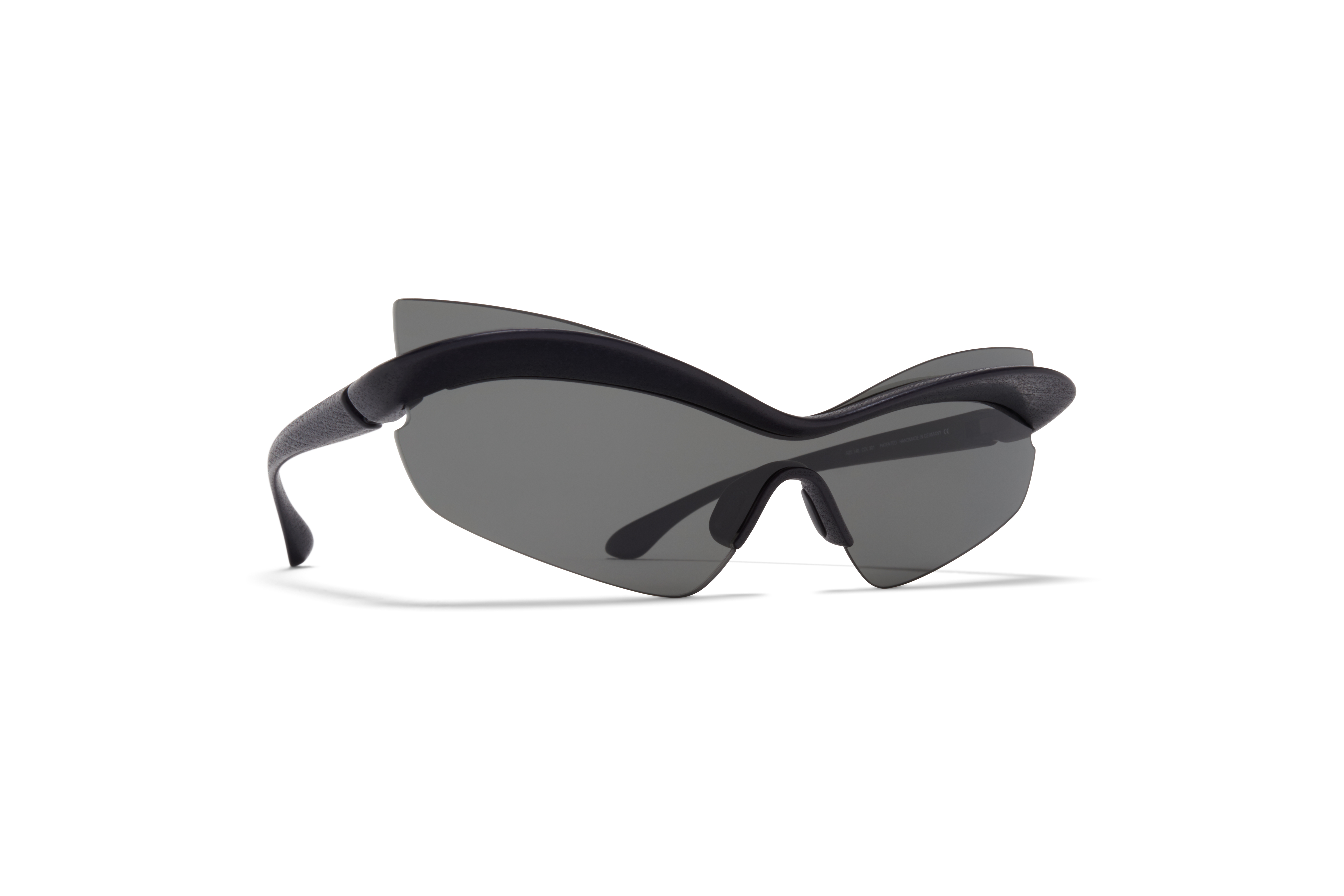 MYKITA Mm Sun Mmecho004 Md1 Pitch Black Dark Grey Solid
