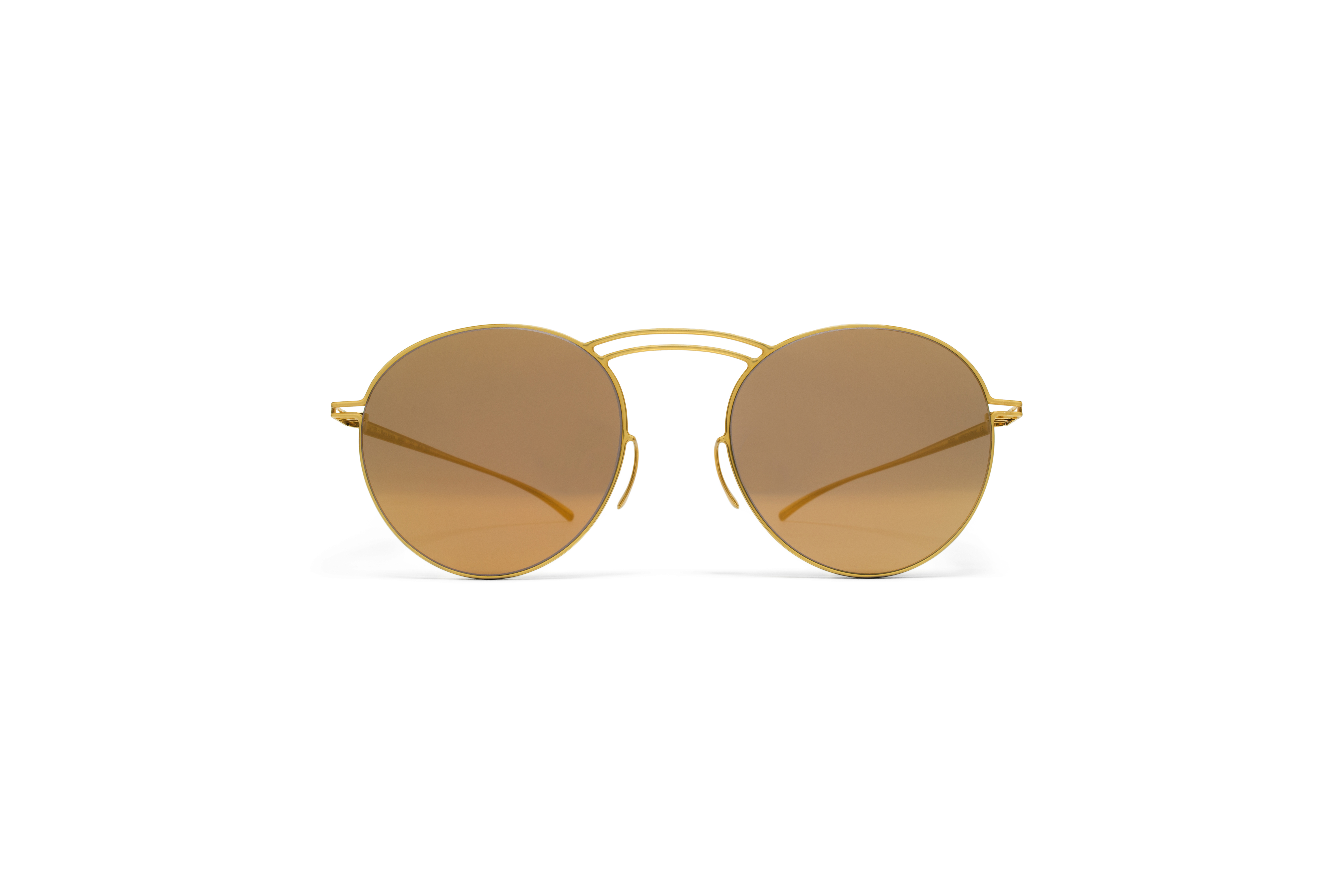MYKITA Mm Sun Mmesse011 E2 Gold Gold Flash