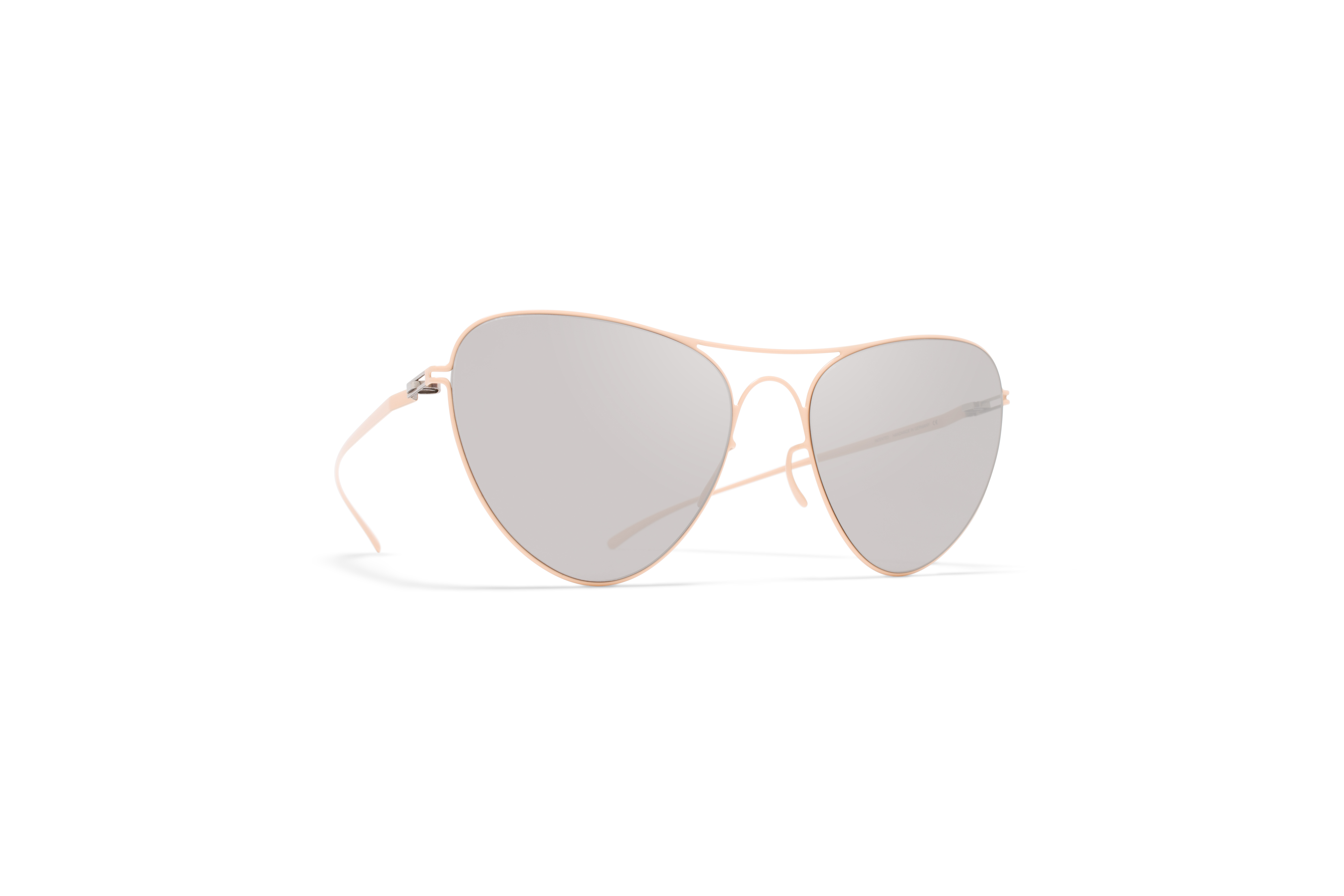 MYKITA Mm Sun Mmesse015 E9 Nude Warm Grey Flash58ab1f9ca9f5c