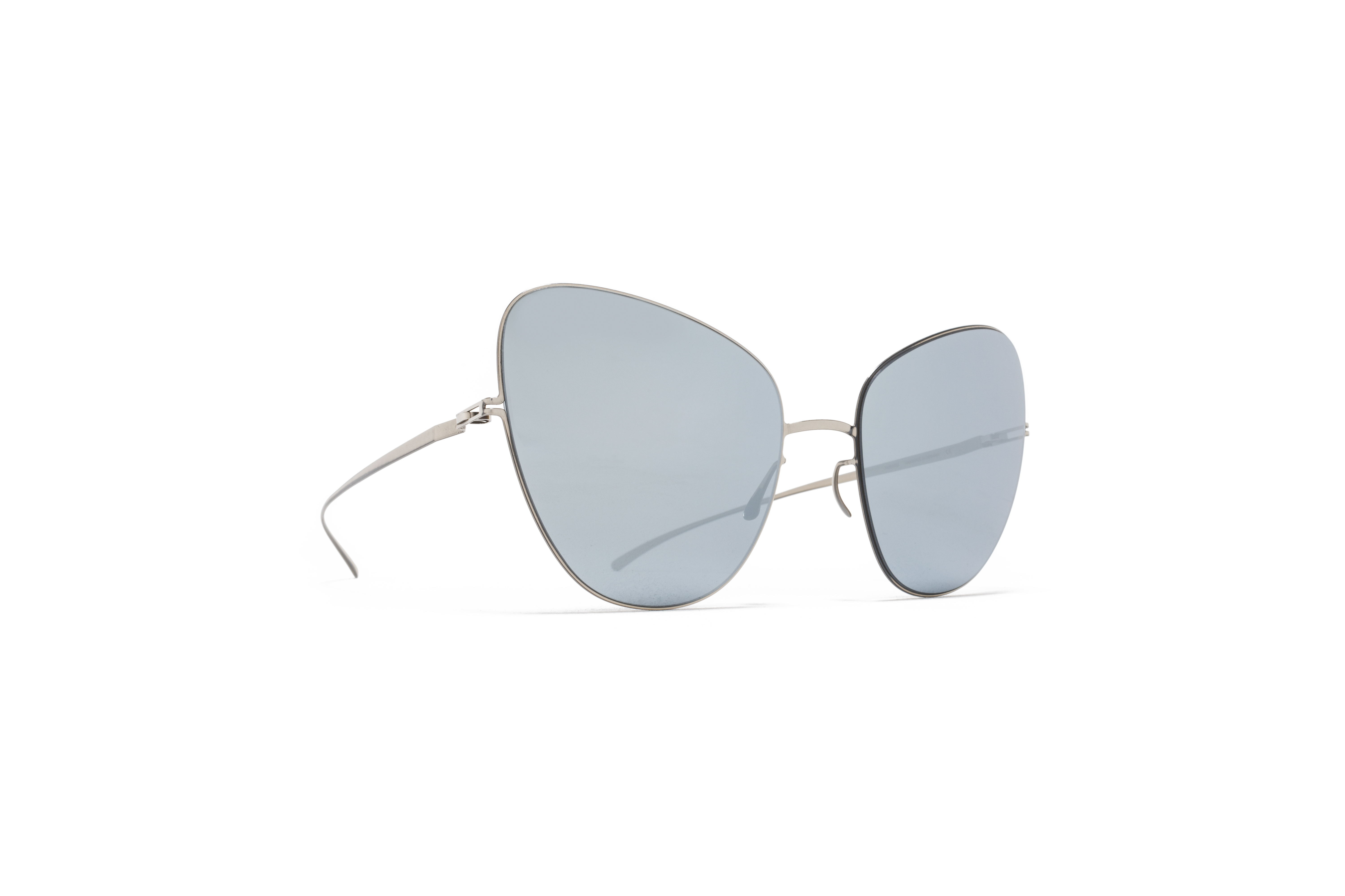 MYKITA Mm Sun Mmesse018 E1 Silver Silver Flash