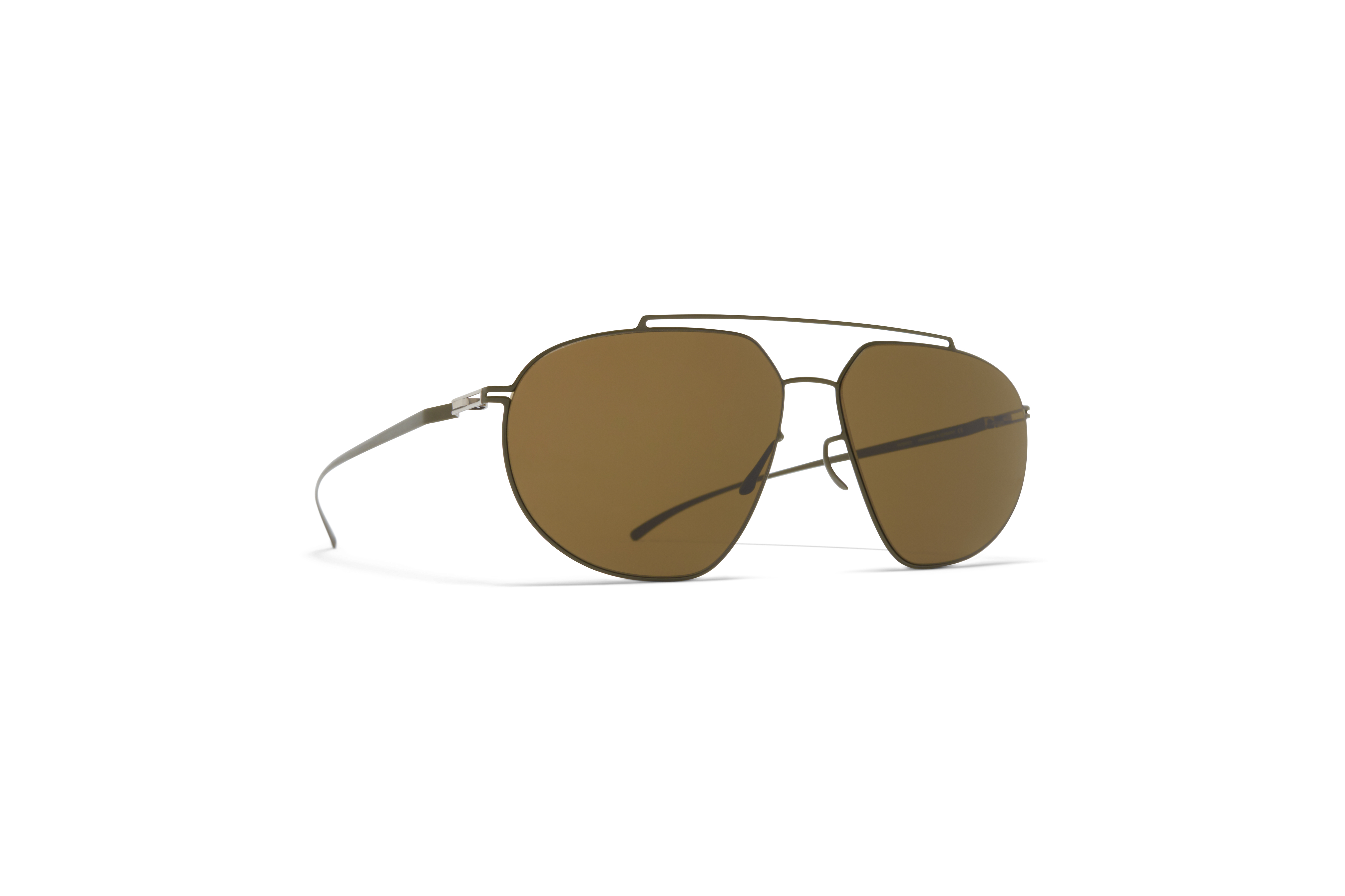 MYKITA Mm Sun Mmesse022 E16 Camou Green Raw Brown Solid