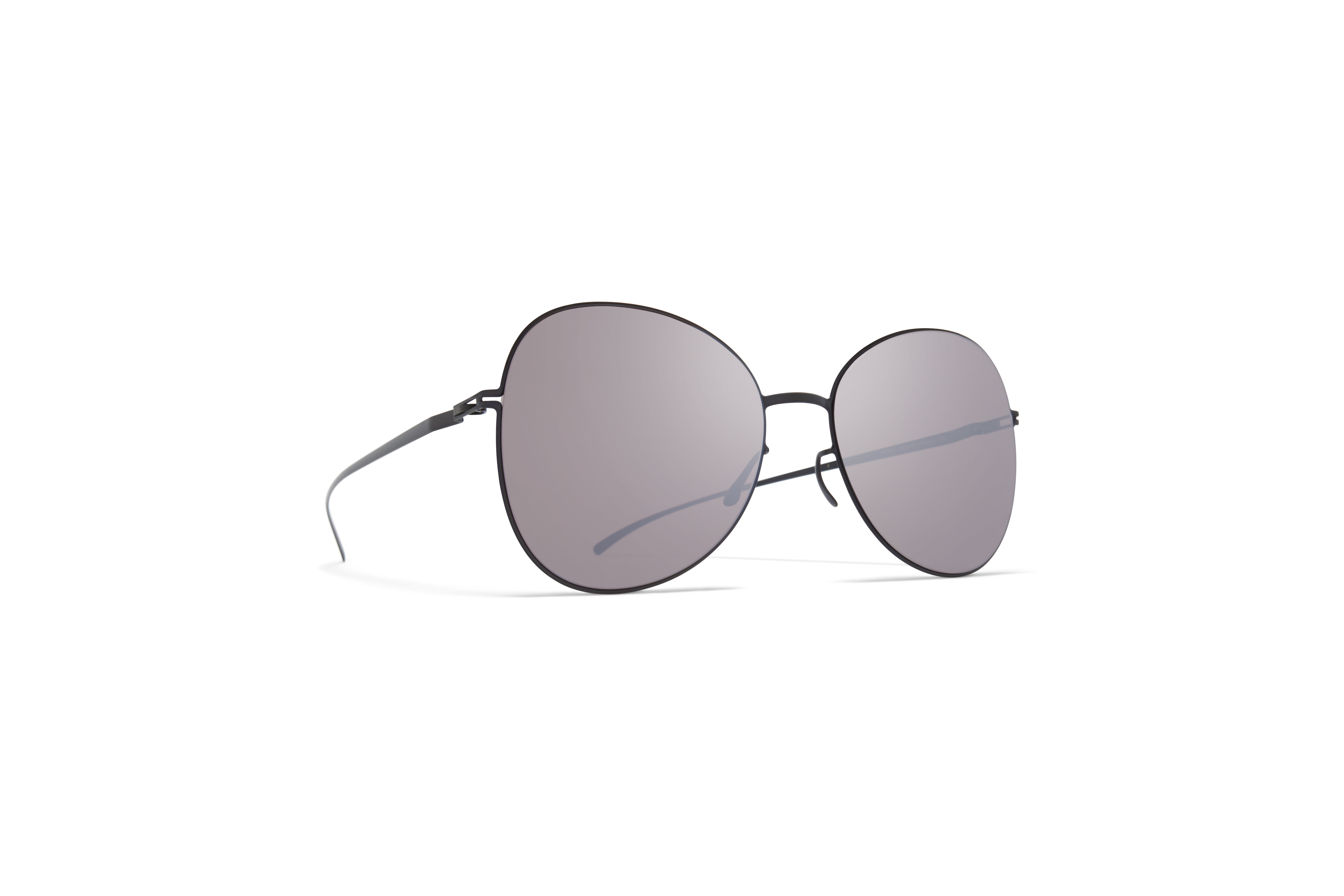 MYKITA Mm Sun Mmesse025 E6 Dark Grey Dark Purple Flash
