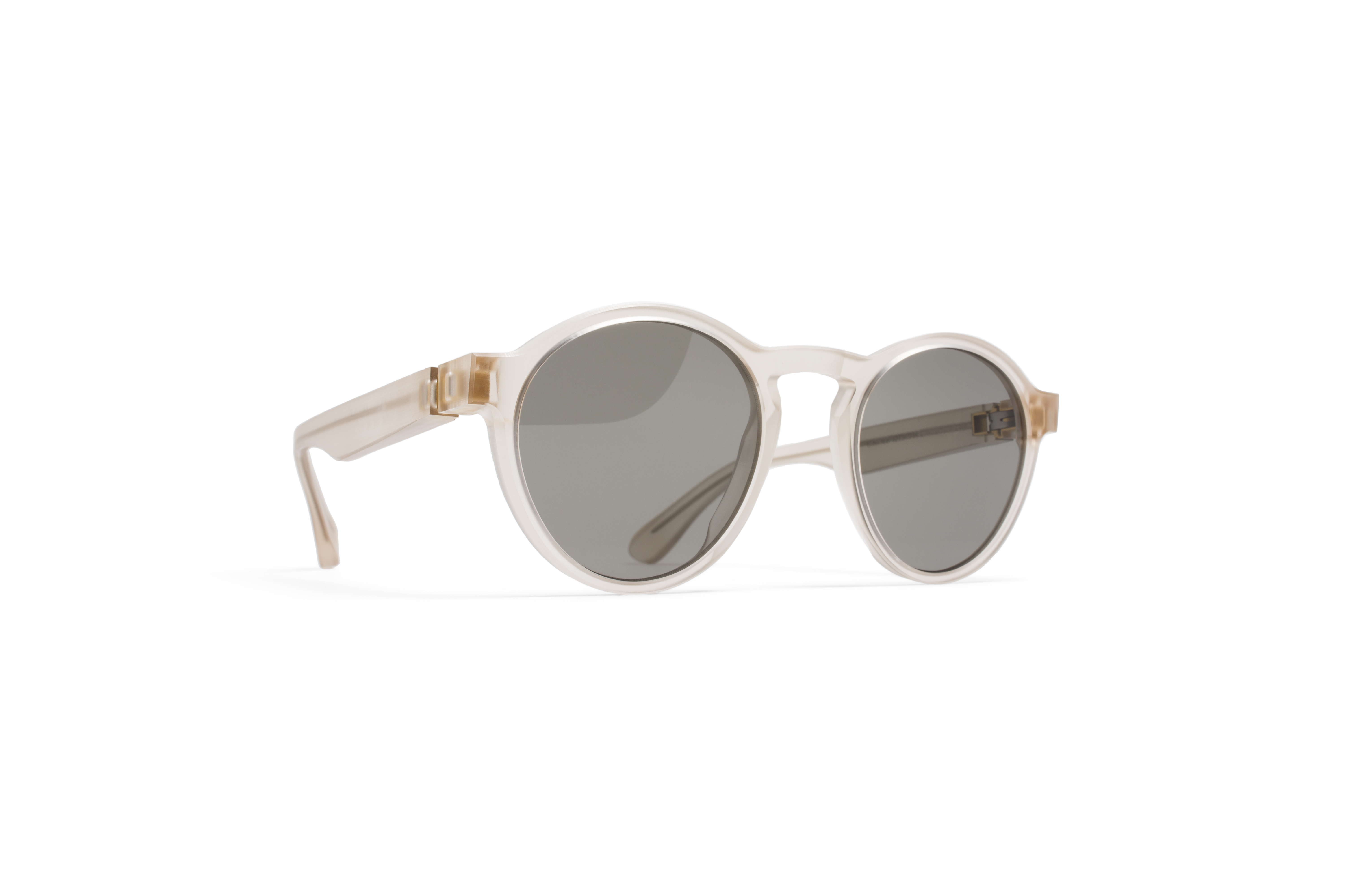 MYKITA Mm Sun Mmraw002 Raw Champagne Grey Solid574ed91e4ac0c
