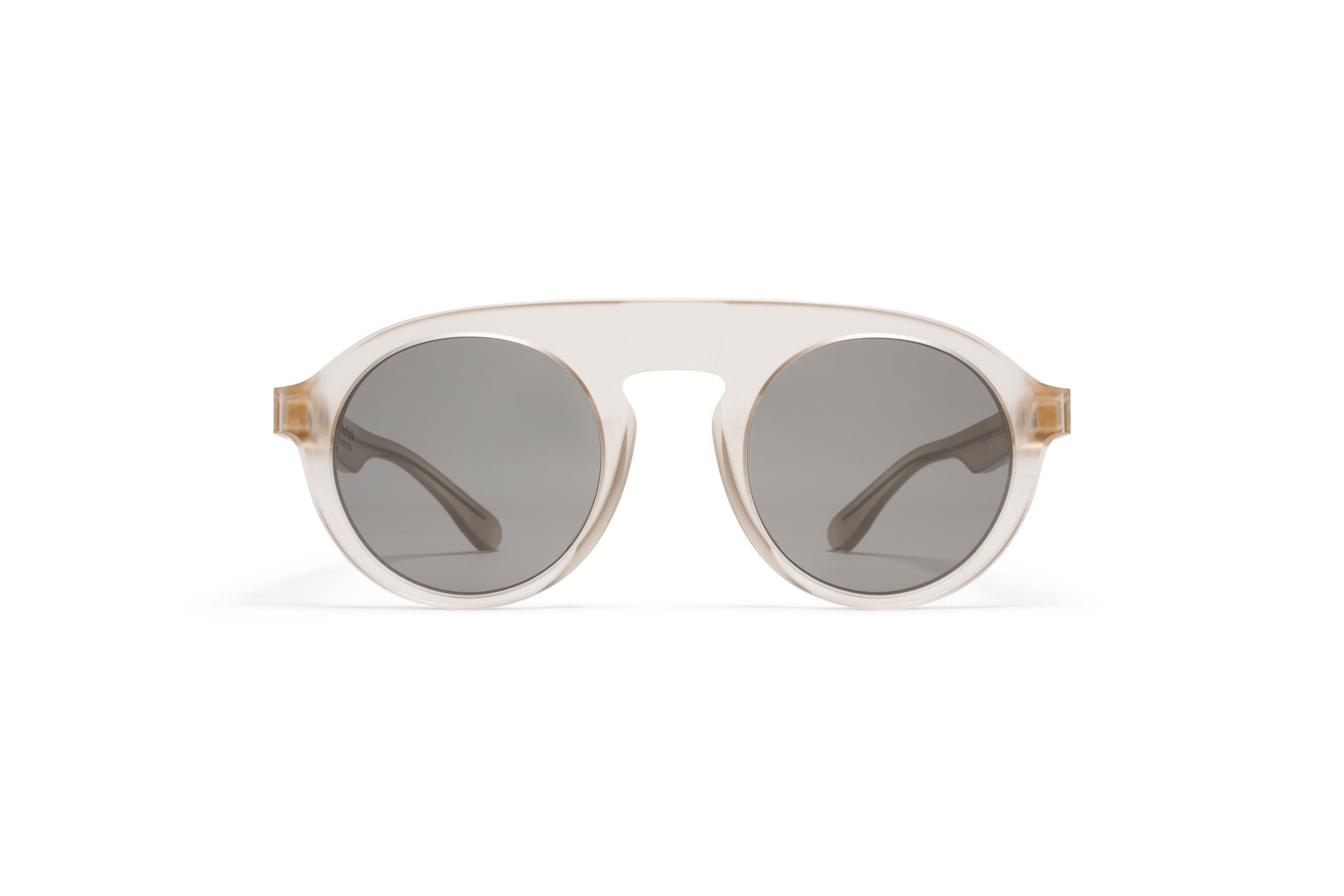 MYKITA Mm Sun Mmraw003 Raw Champagne Grey Solid574ed981e306b