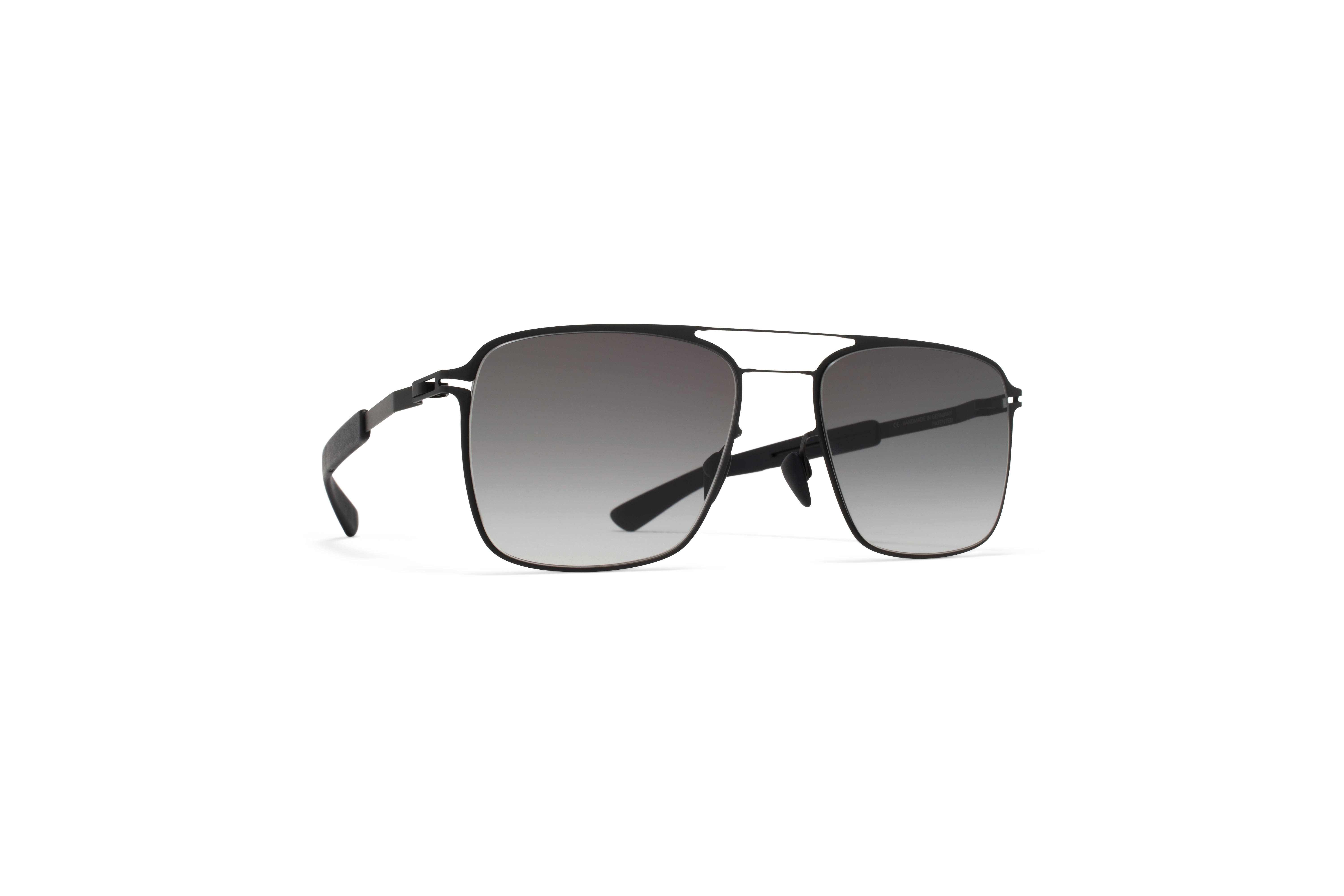 MYKITA Mylon Hybrid Sun Flax Mh1 Black Pitch Black