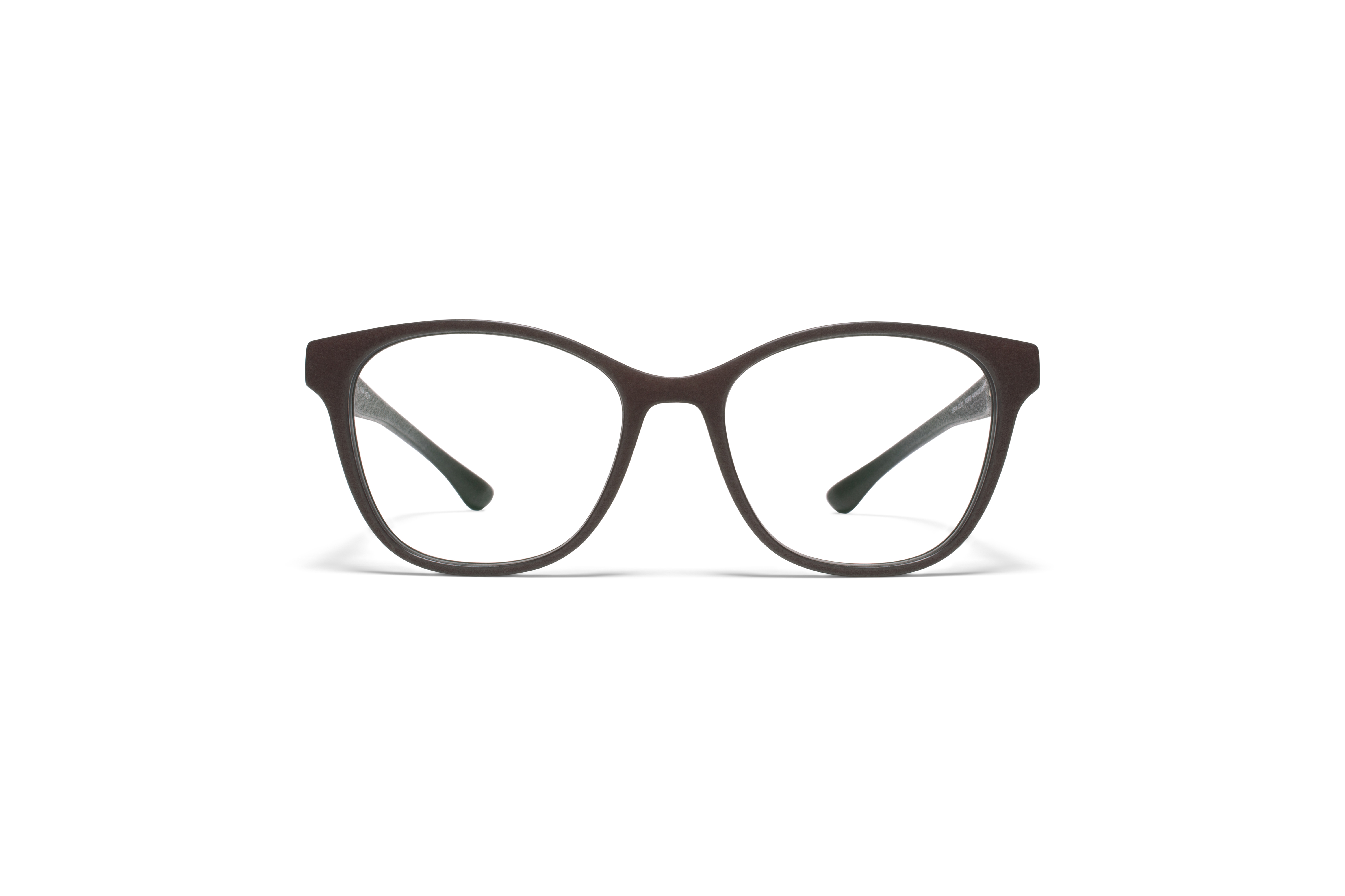 MYKITA Mylon Rx Amma Md22 Ebony Brown Clear
