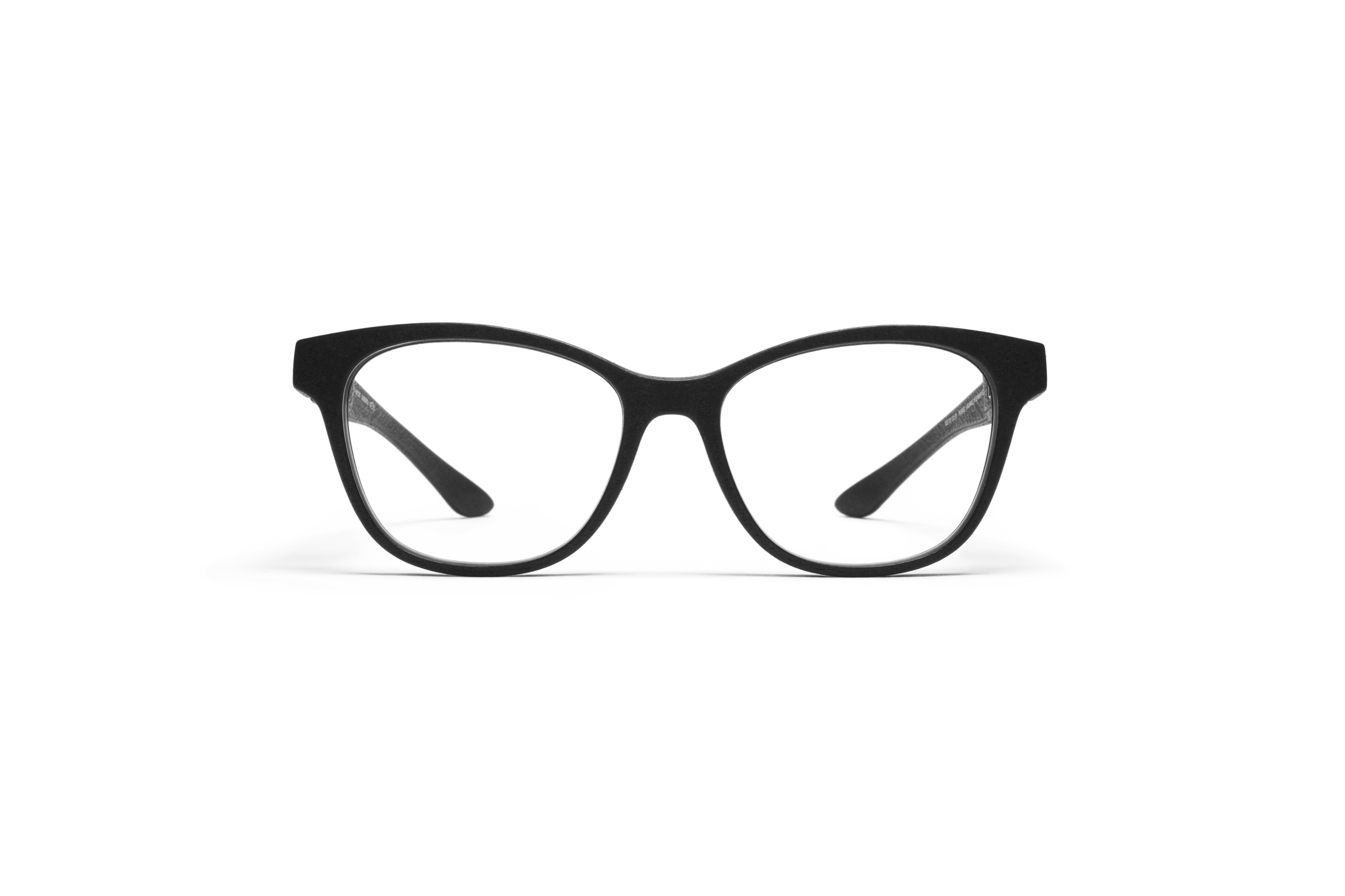 MYKITA Mylon Rx Cassiopeia Md1 Pitch Black Clear