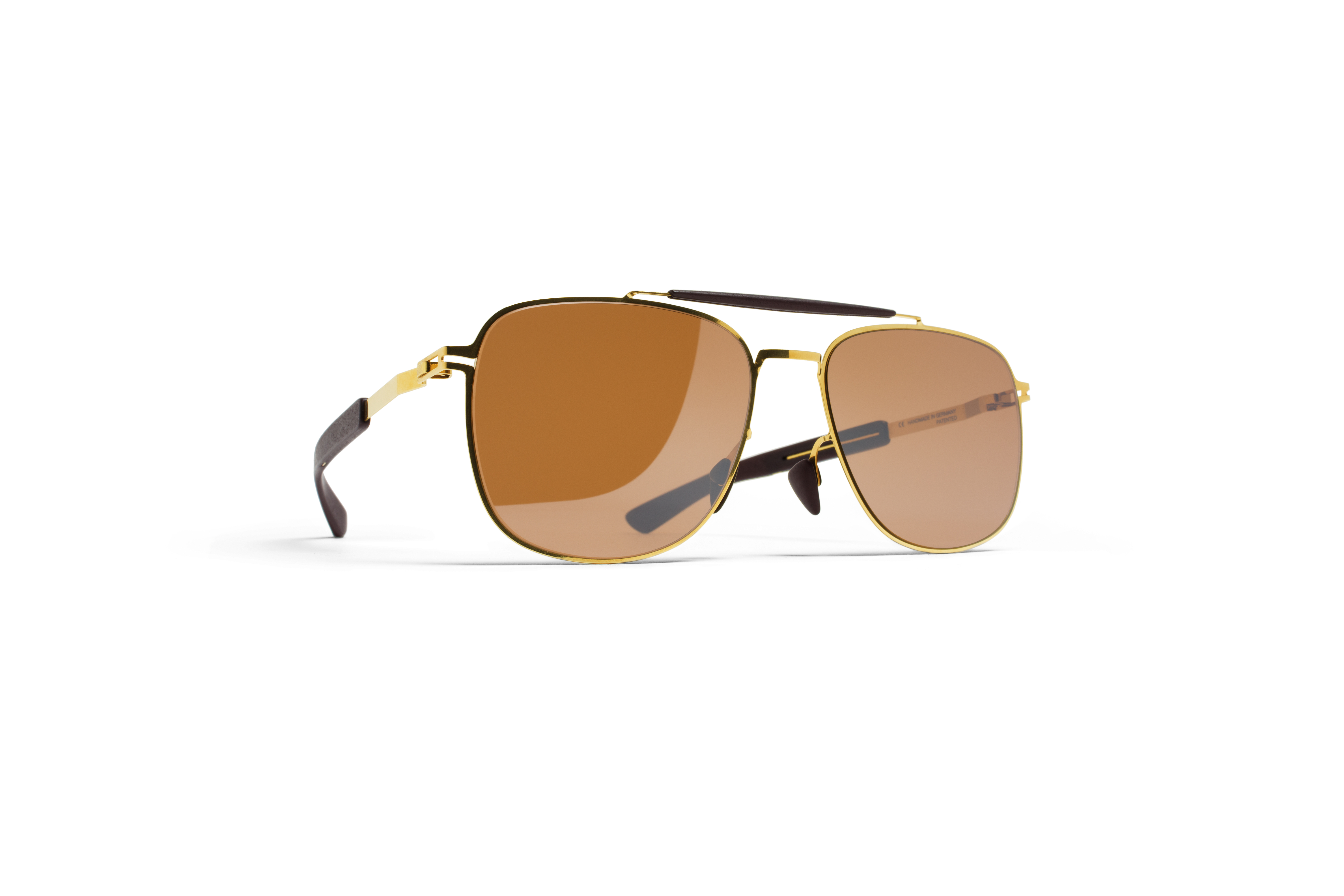 MYKITA Mylon Rx Elon Mh2 Gold Ebony Brown Siennabr