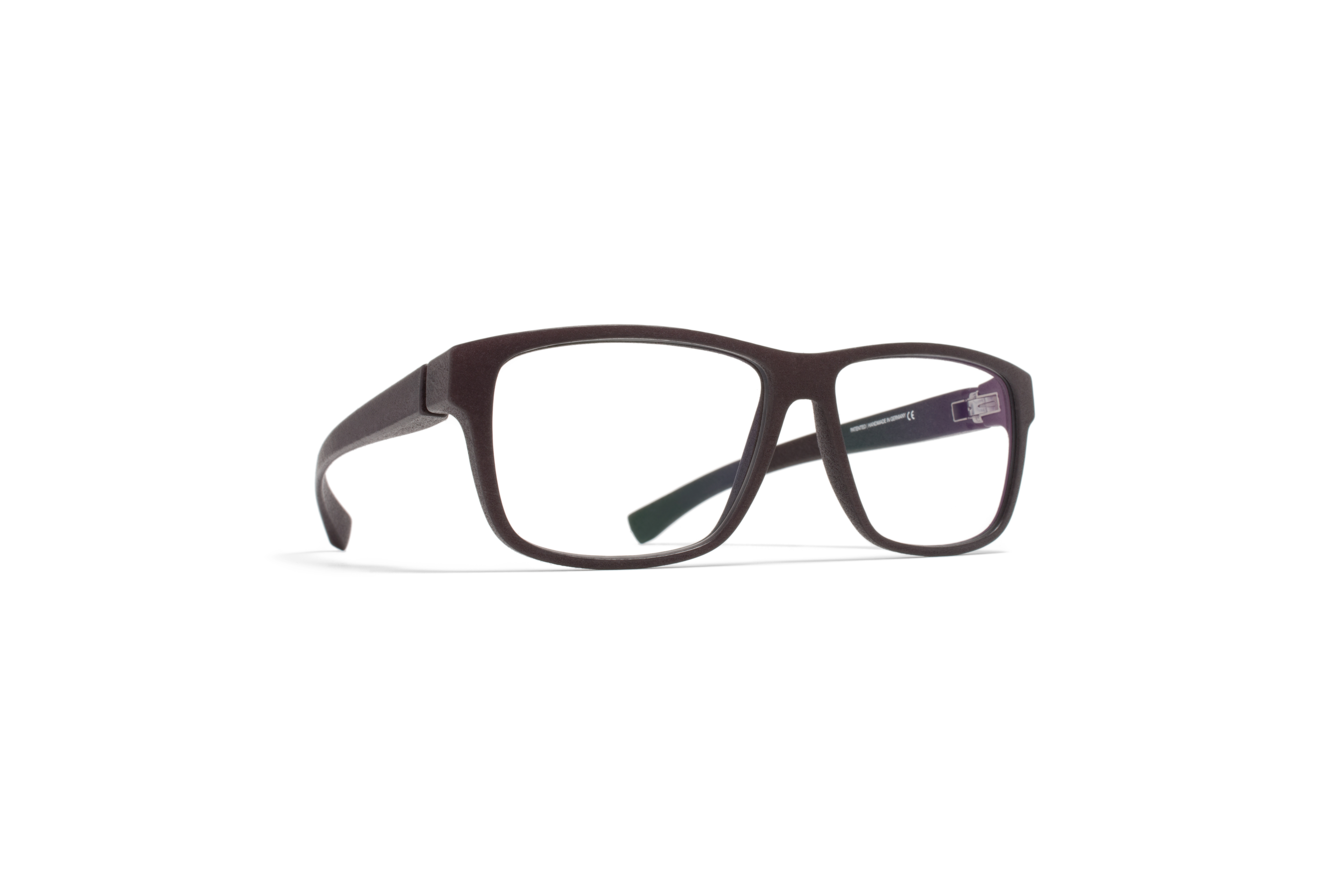MYKITA Mylon Rx Eres Md22 Ebony Brown Clear