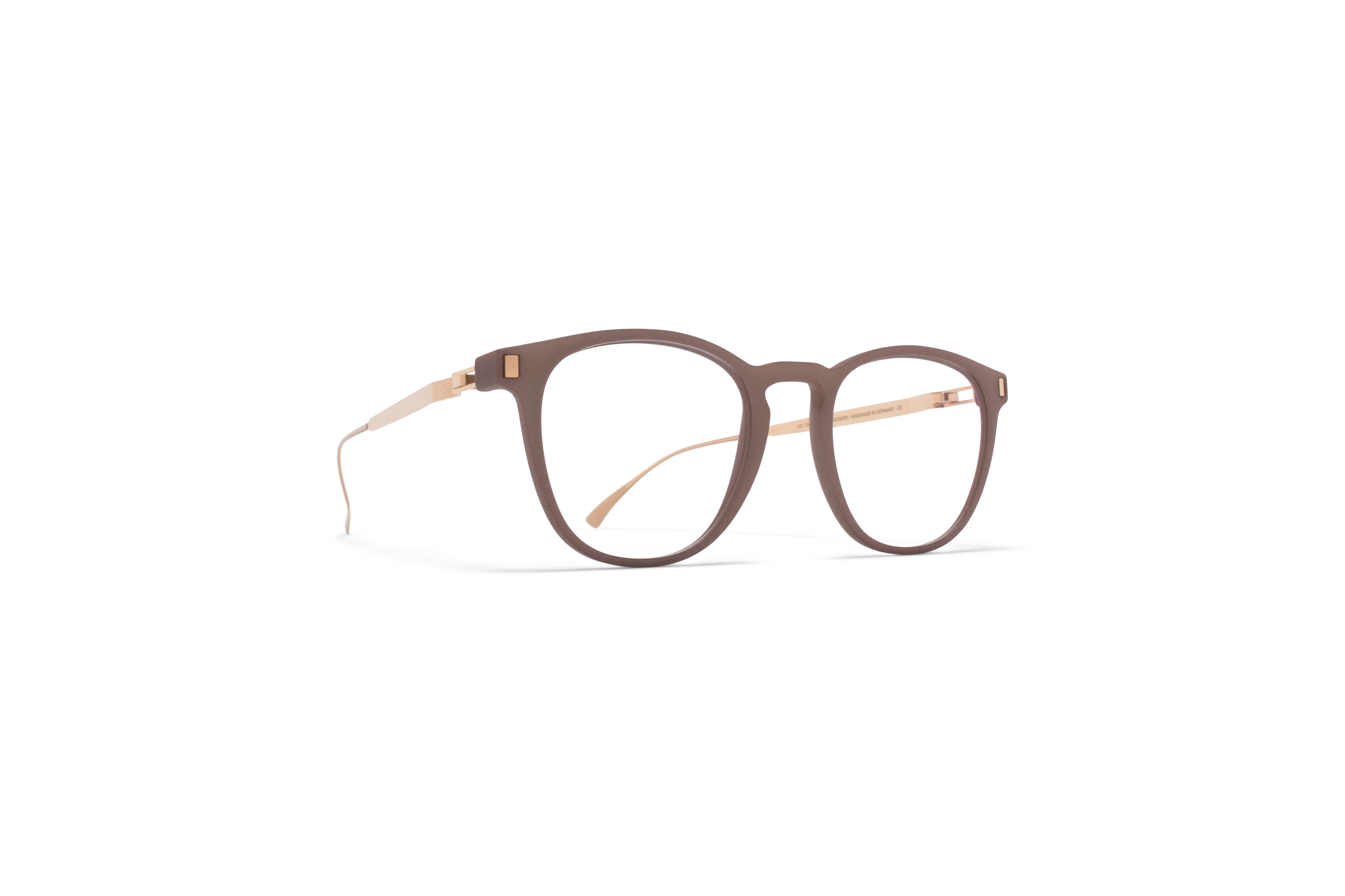MYKITA Mylon Rx Guava Mh17 Taupe Grey Champagne Gold Clear