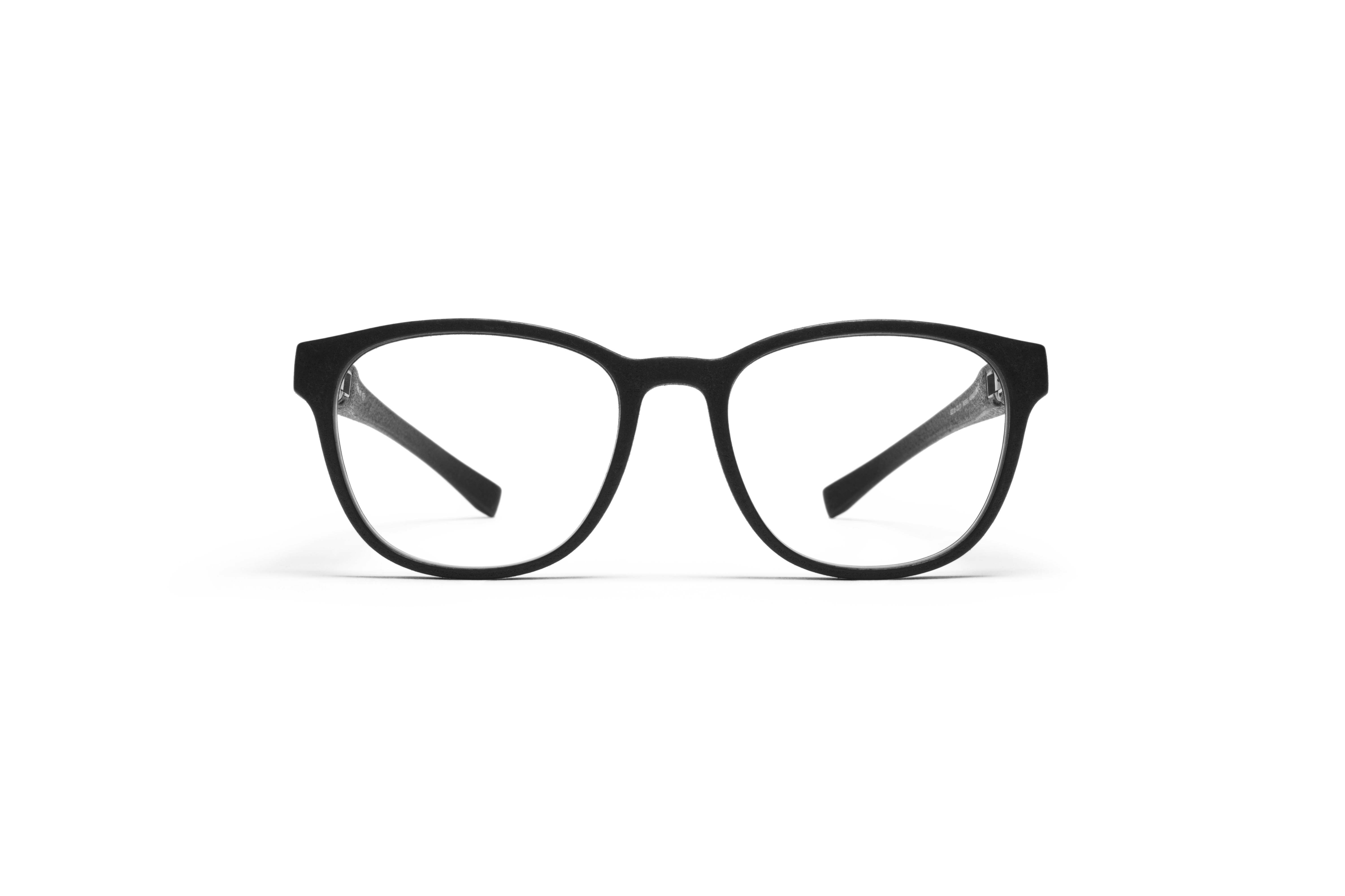 MYKITA Mylon Rx Isco Md1 Pitch Black Clear