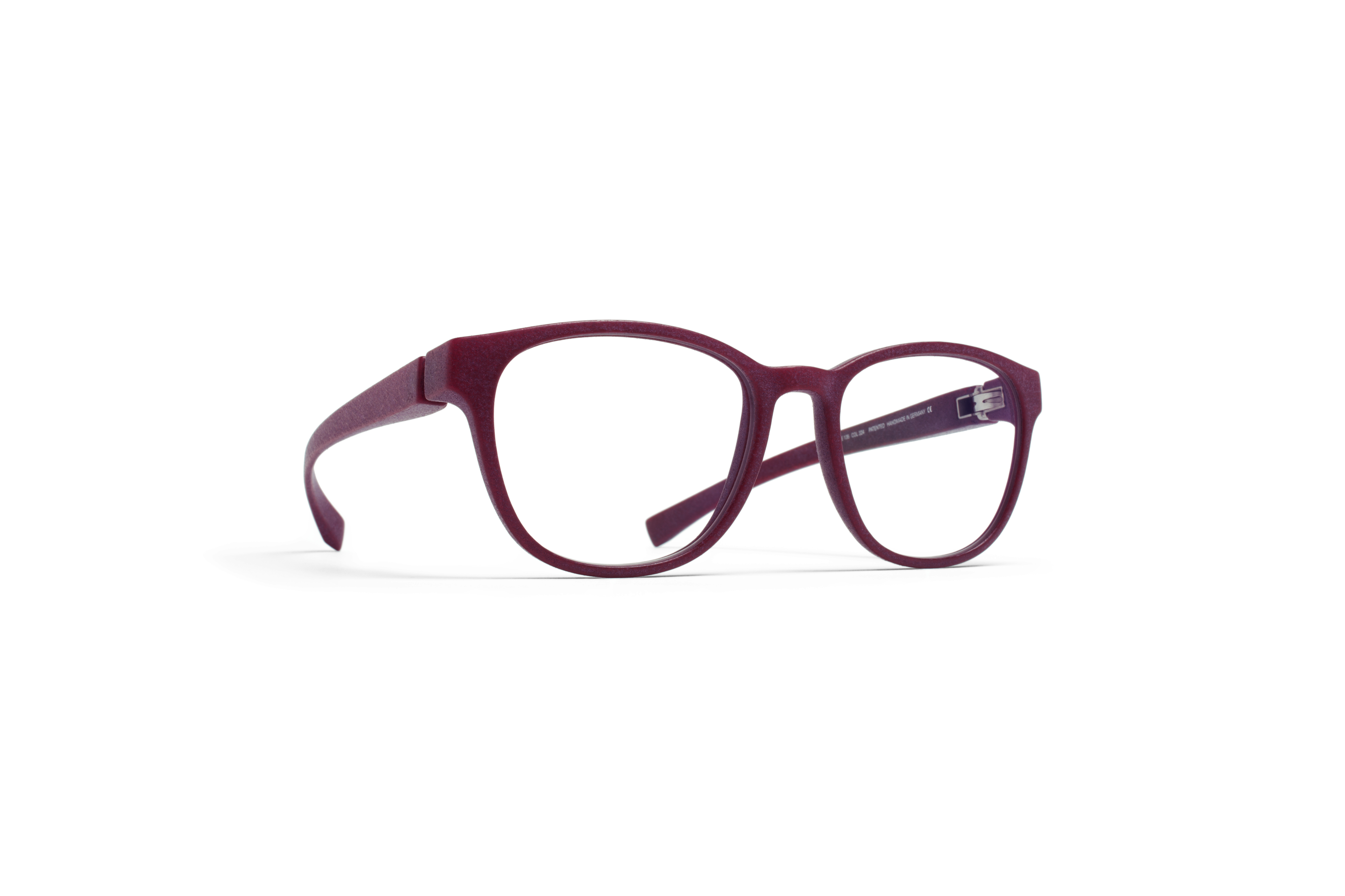 MYKITA Mylon Rx Isco Md24 New Aubergine Clear