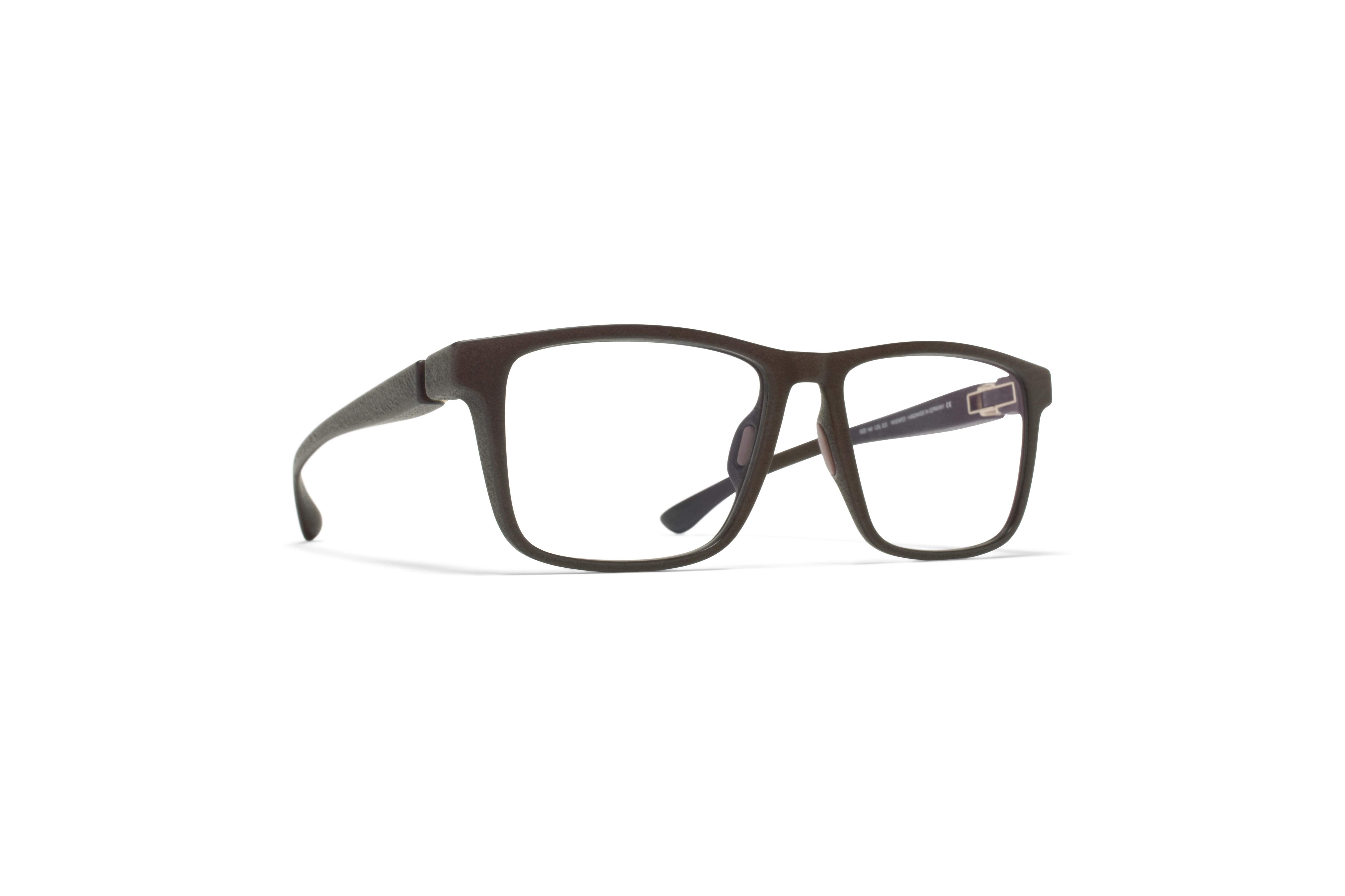 MYKITA Mylon Rx Lemare Md22 Ebony Brown Clear