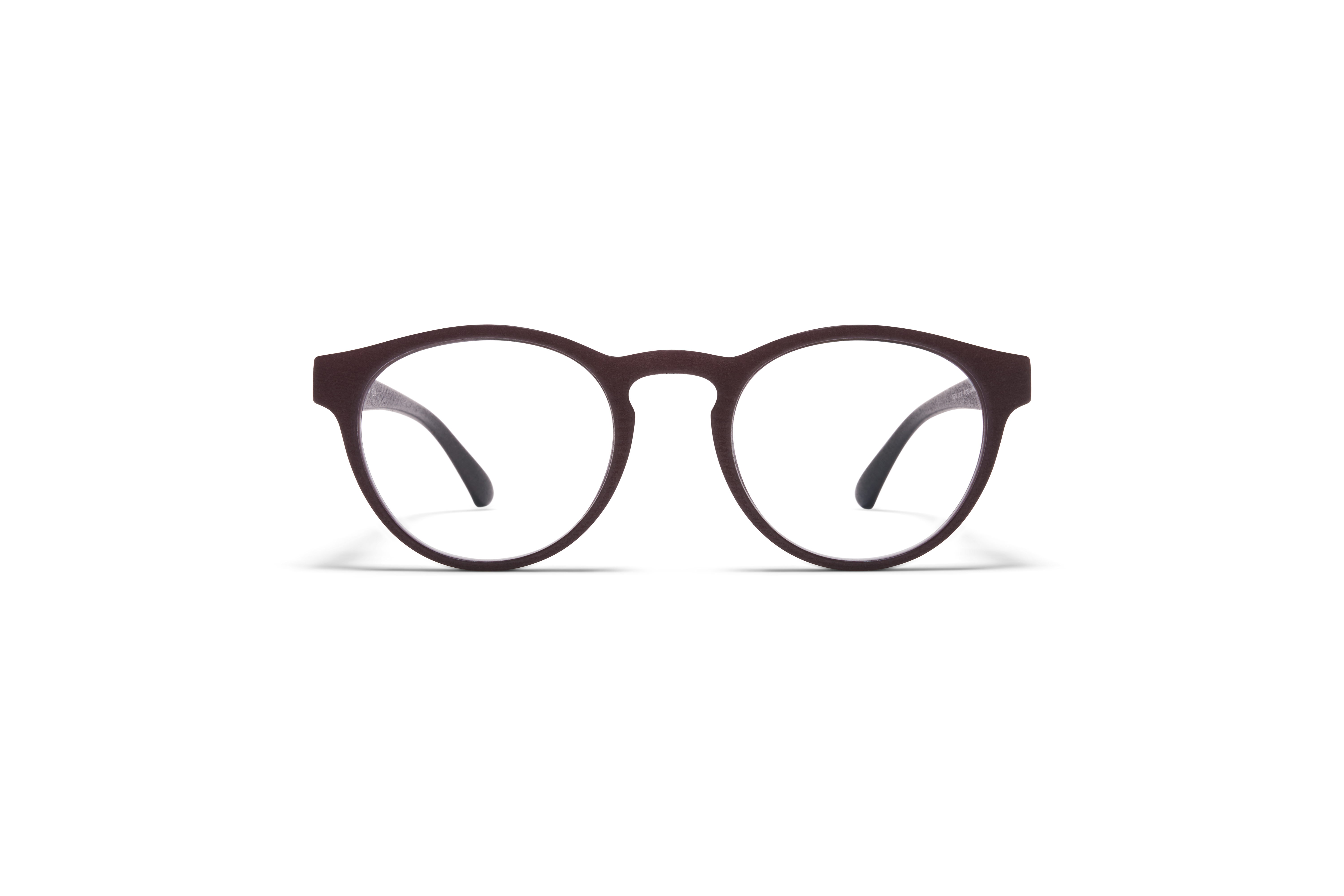 MYKITA Mylon Rx Lioba Md22 Ebony Brown Clear