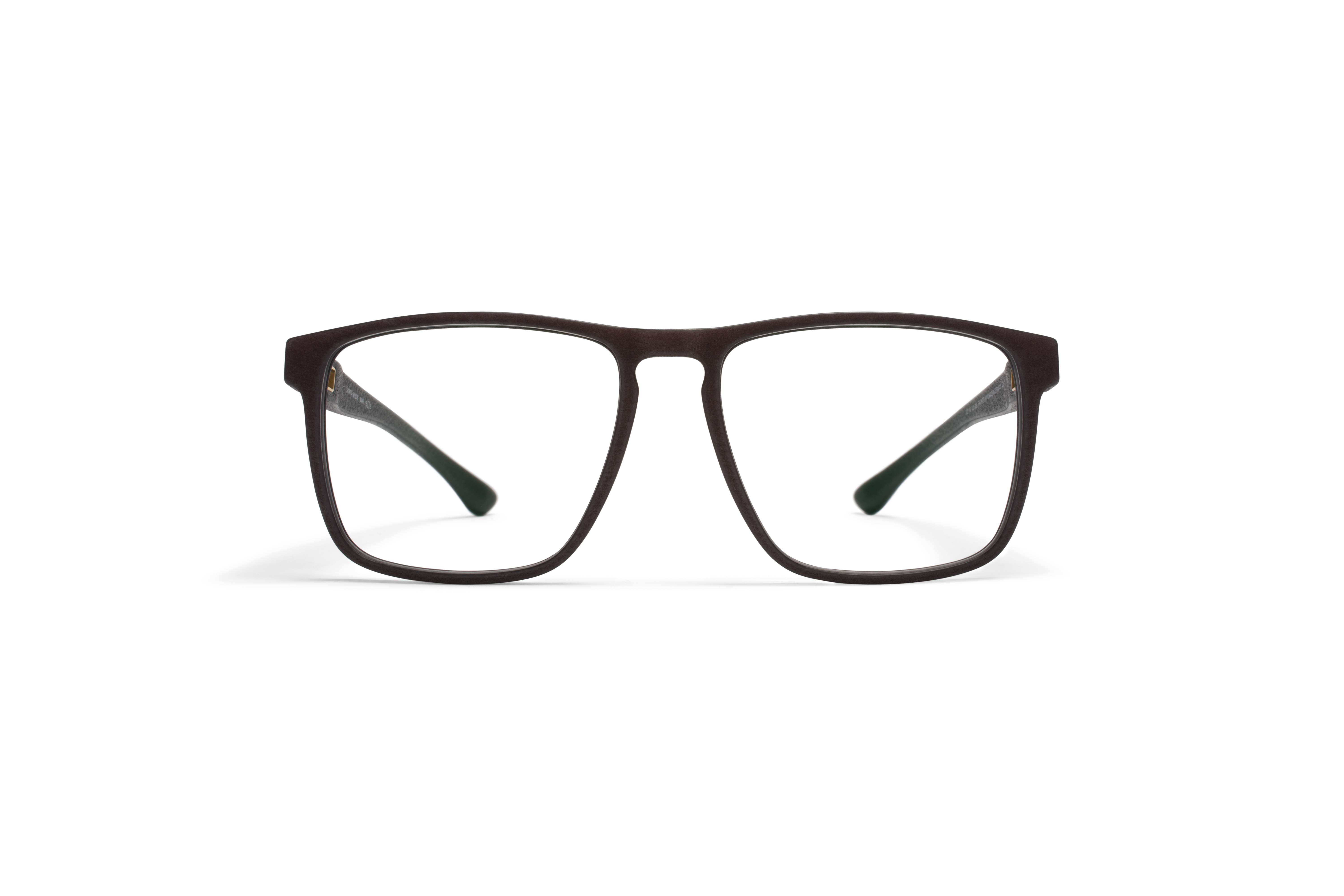 MYKITA Mylon Rx Mahi Md22 Ebony Brown Clear