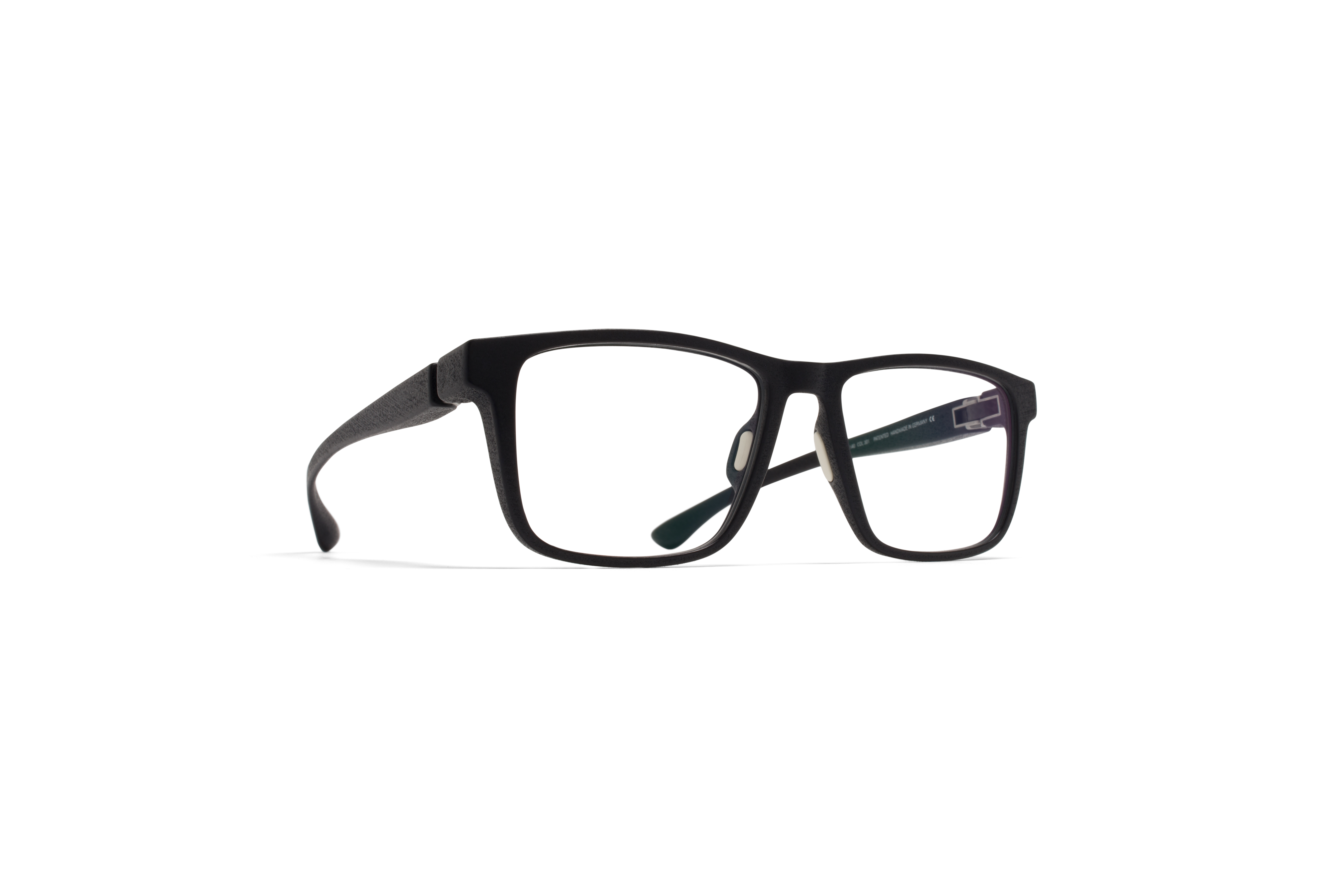 MYKITA Mylon Rx Mars Md1 Pitch Black Clear