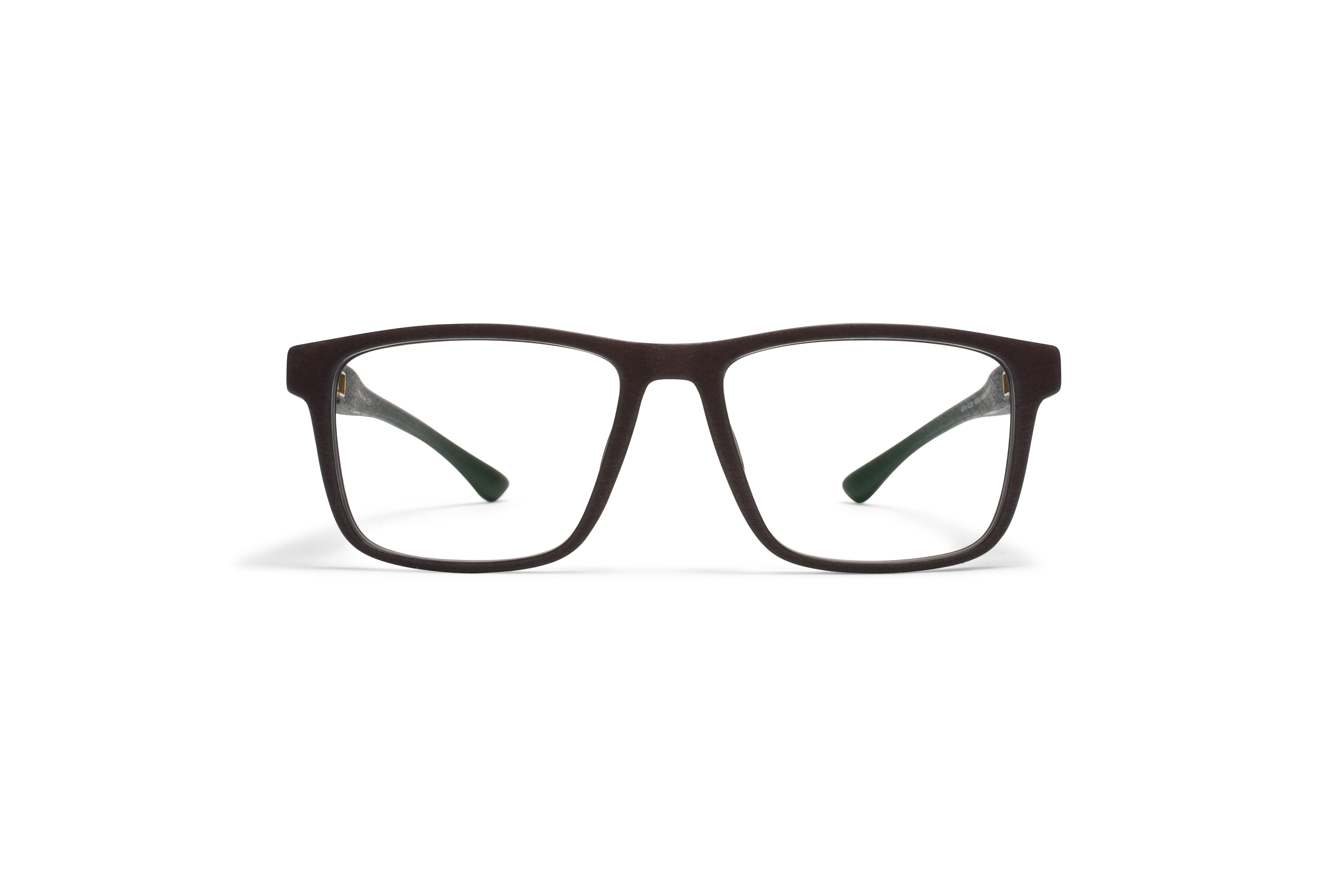 MYKITA Mylon Rx Mars Md22 Ebony Brown Clear