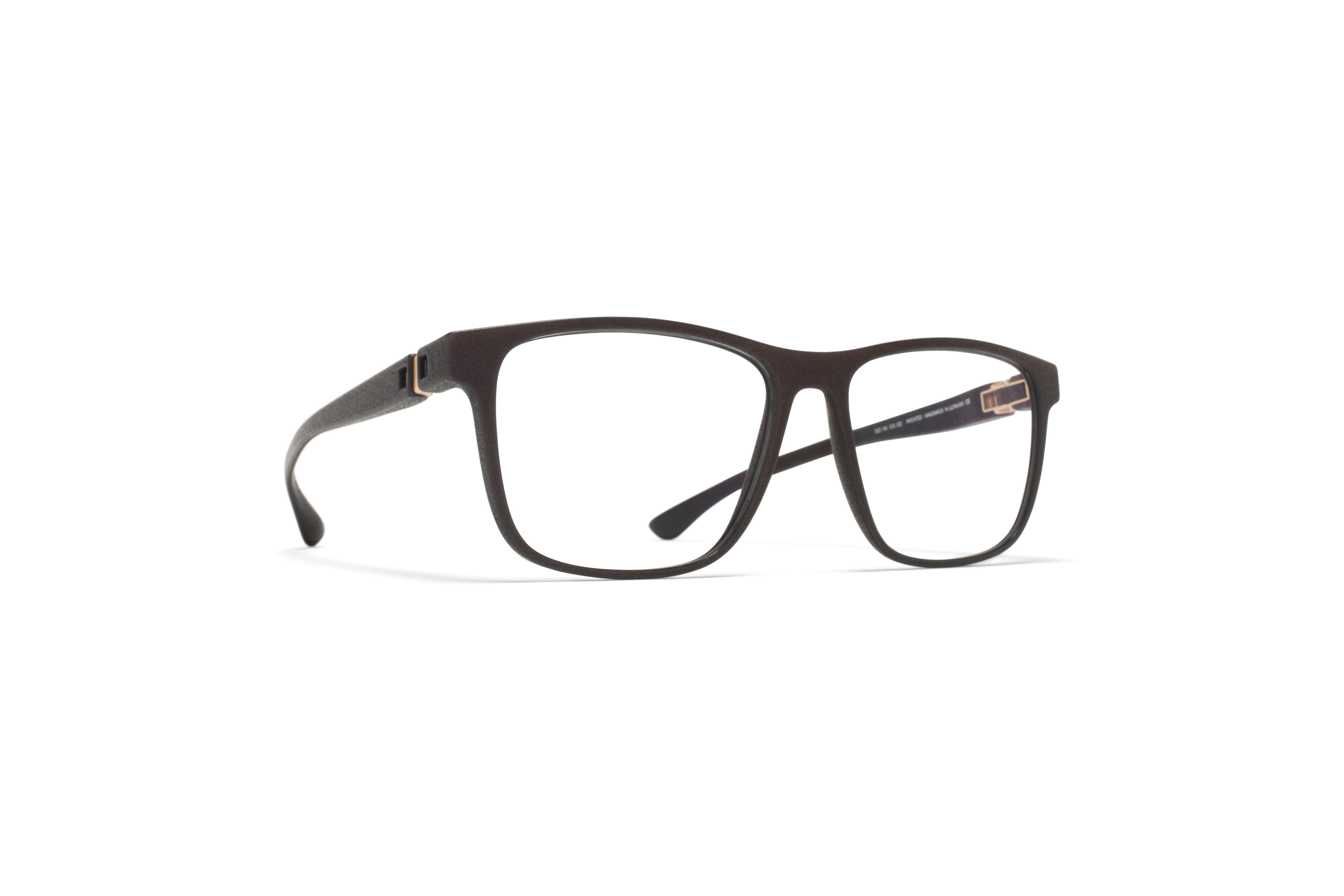 MYKITA Mylon Rx Mojo Md22 Ebony Brown Clear