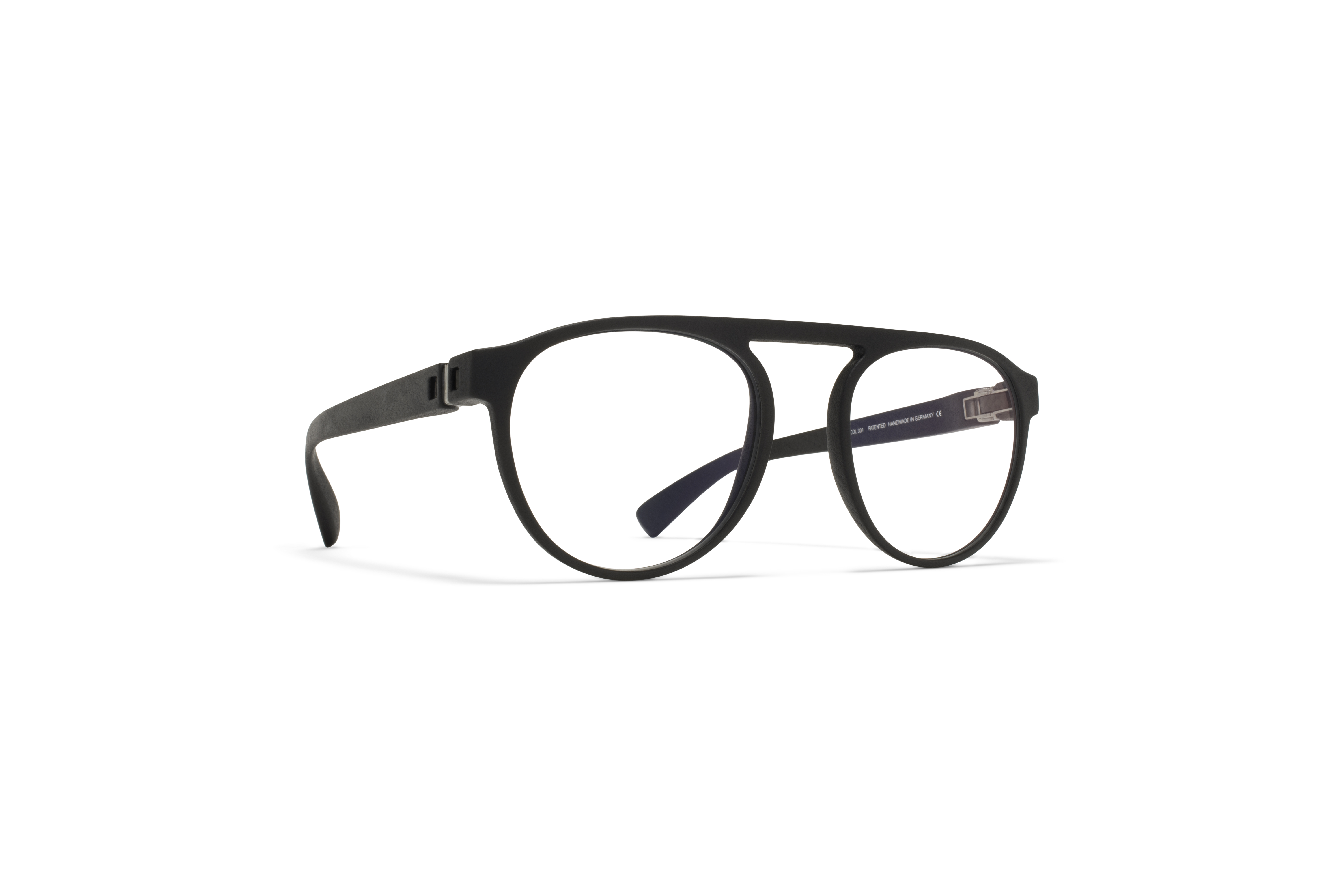 MYKITA Mylon Rx Nives Md1 Pitch Black Clear