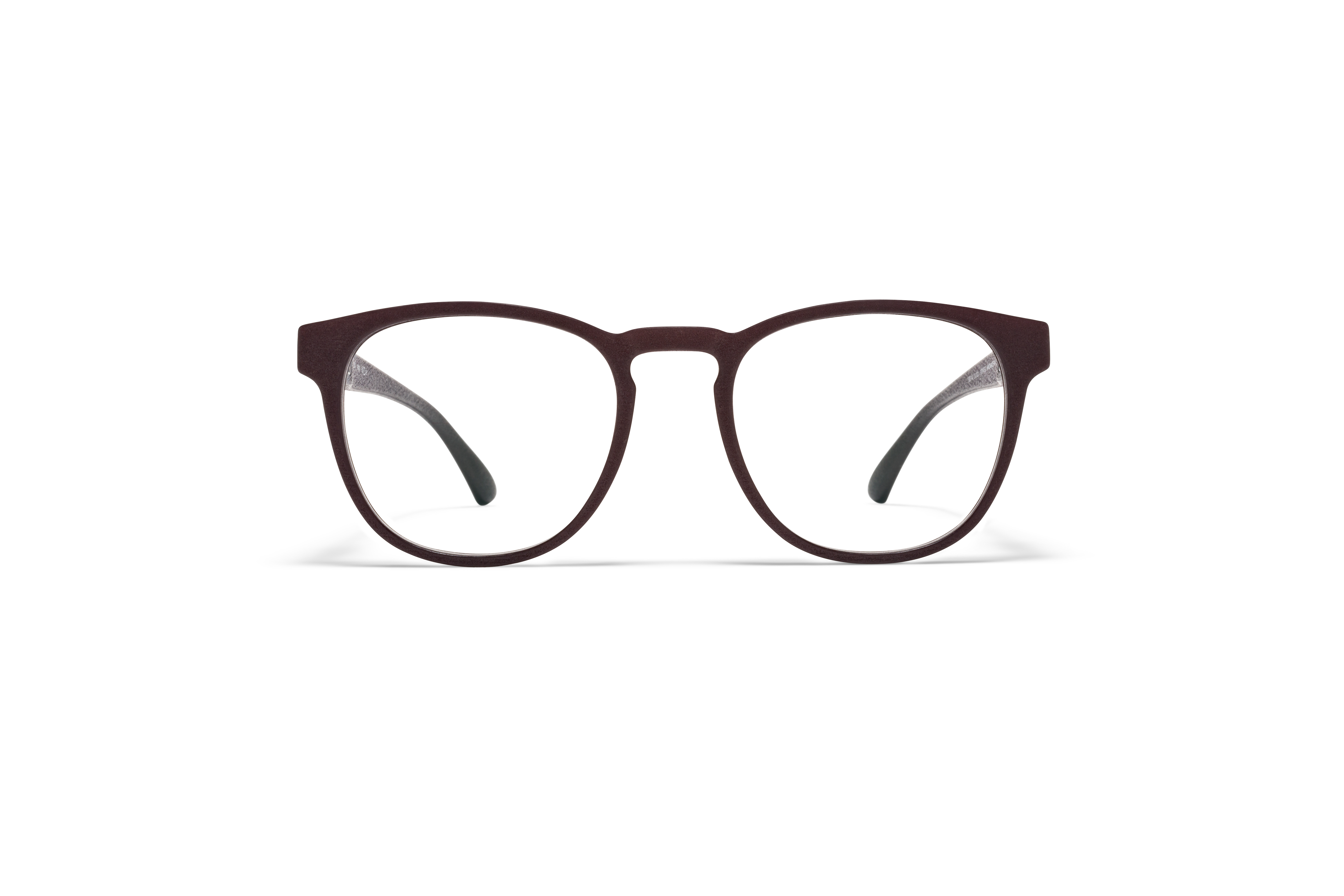 MYKITA Mylon Rx Pax Md22 Ebony Brown Clear