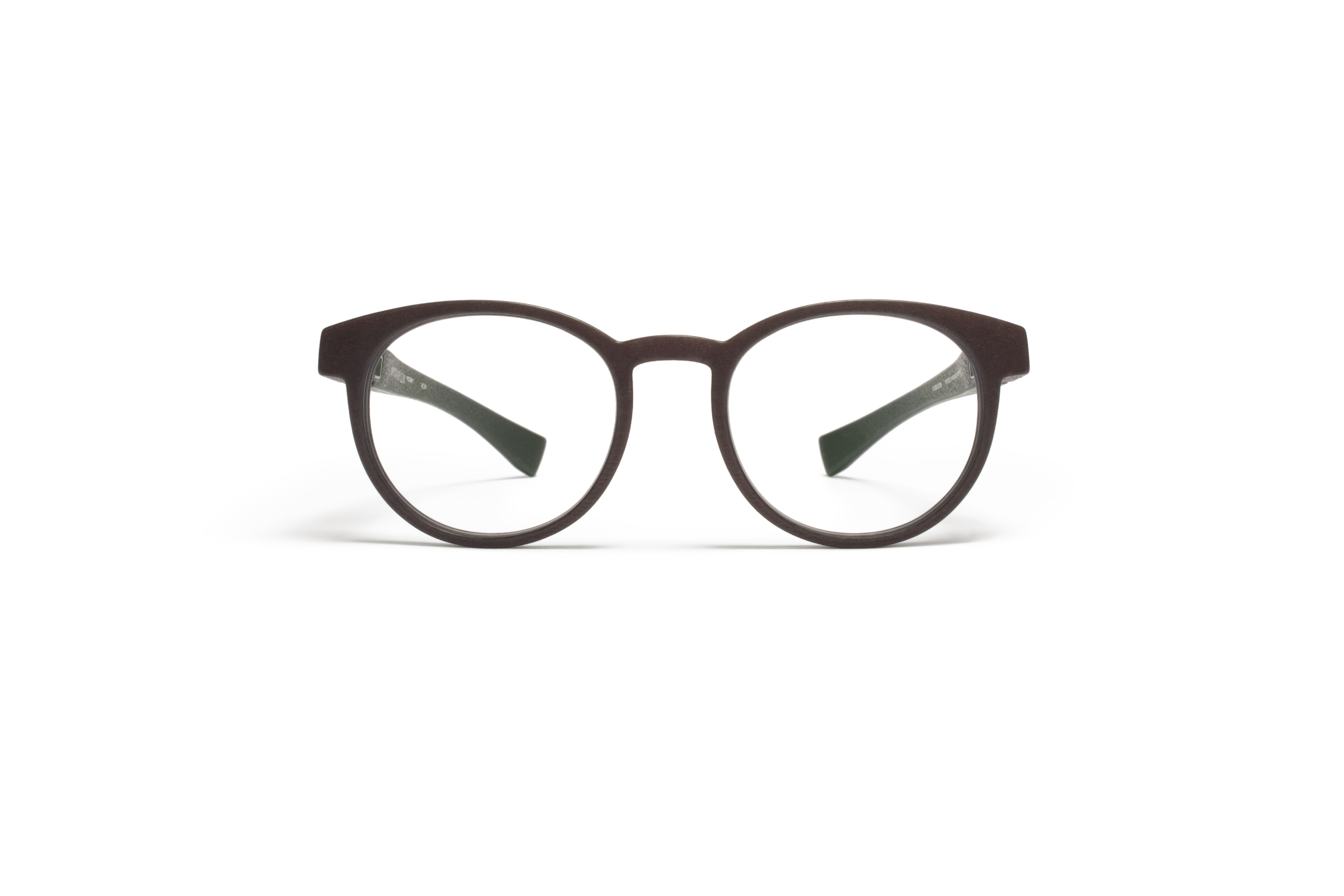 MYKITA Mylon Rx Piccard Md22 Ebony Brown Clear