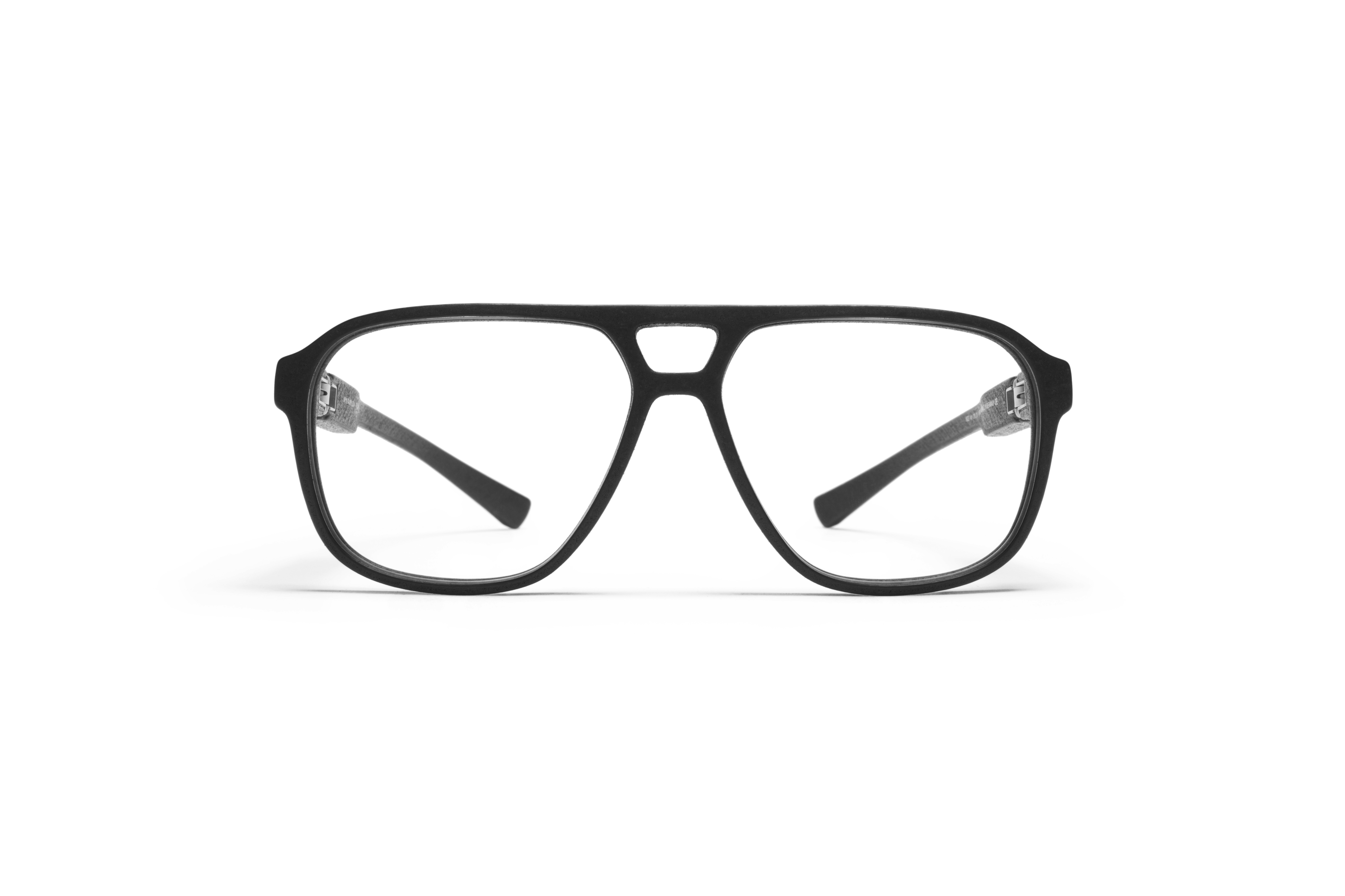 MYKITA Mylon Rx Polar Md1 Pitch Black Clear